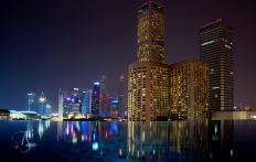 Infinity Pool. Naumi Hotel, Singapore. ©Travel+Style