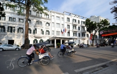 Exterior of Sofitel Legend Metropole, Hanoi. © Travel+Style