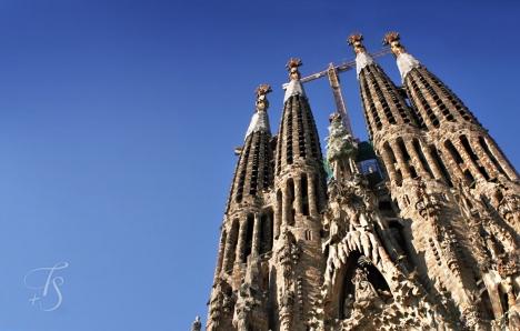 Basílica de la Sagrada Família. © Travel+Style