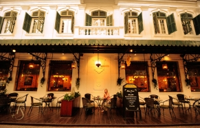 La Terrasse du Metropole, Sofitel Legend Metropole, Hanoi. © Travel+Style