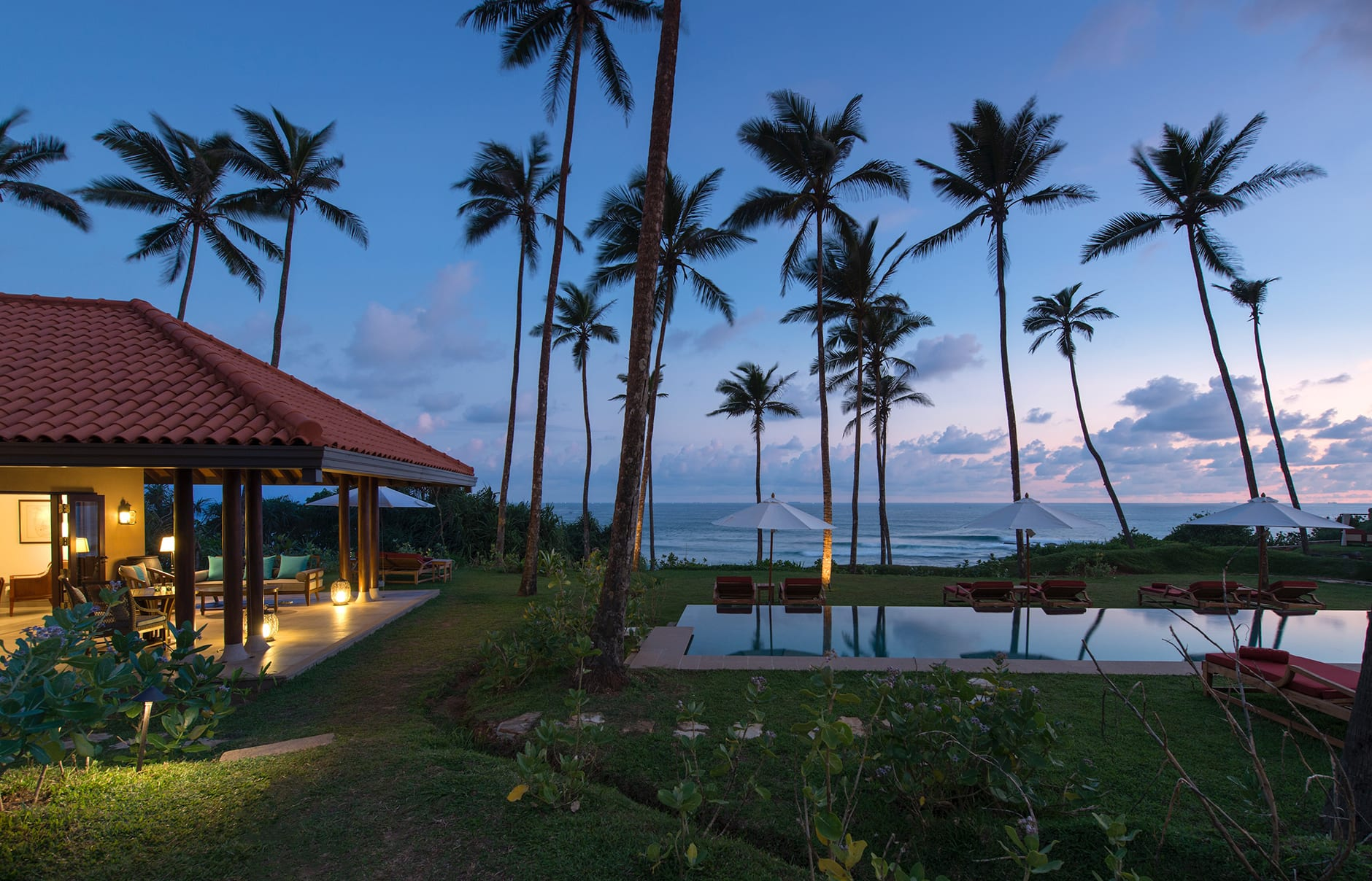 Cape Weligama, Sri Lanka. Luxury Hotel Review by TravelPlusStyle. Photo © Resplendent Ceylon