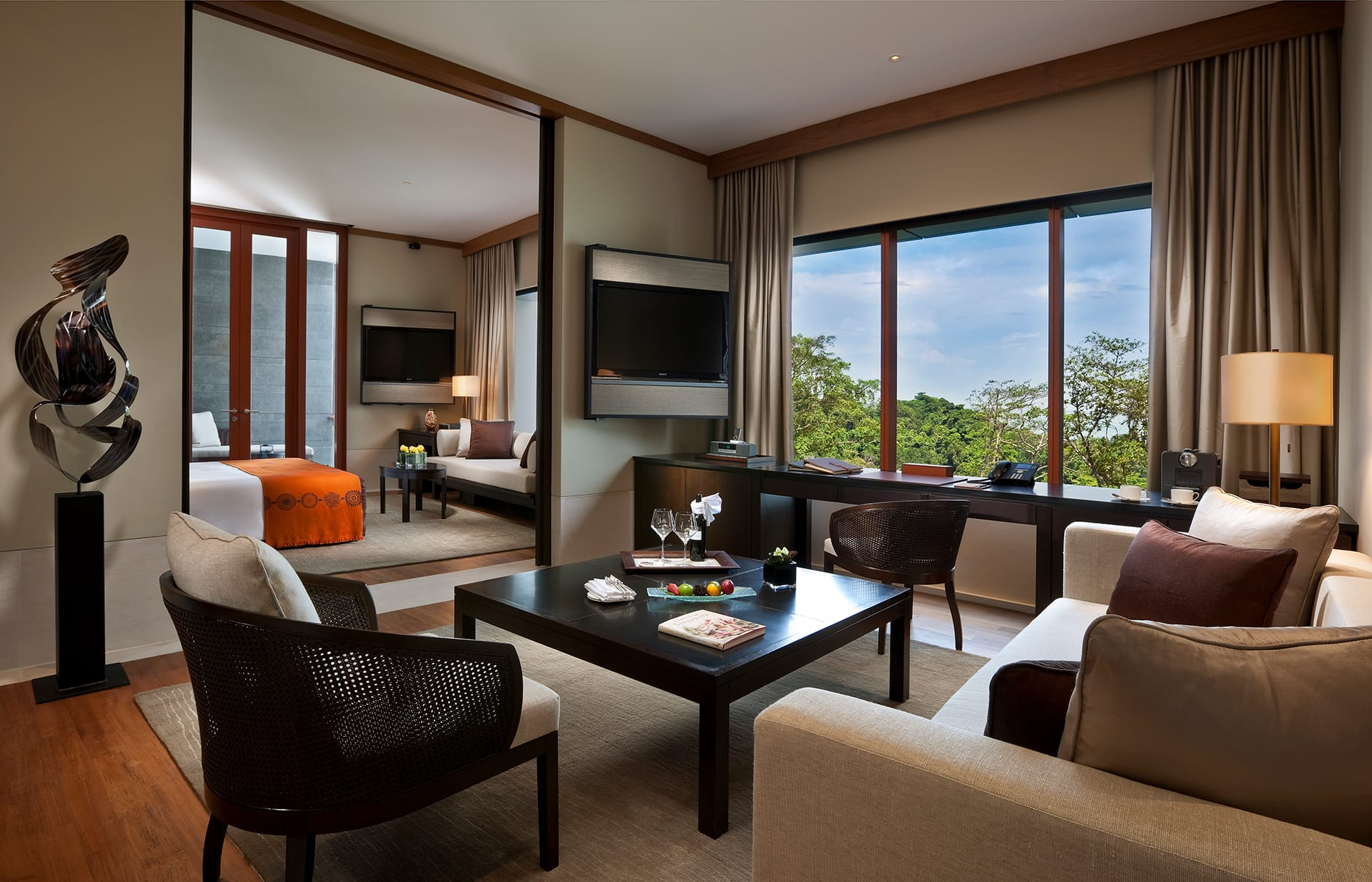 Capella Singapore, Singapore. Hotel Review by TravelPlusStyle. Photo © Capella Hotels and Resorts