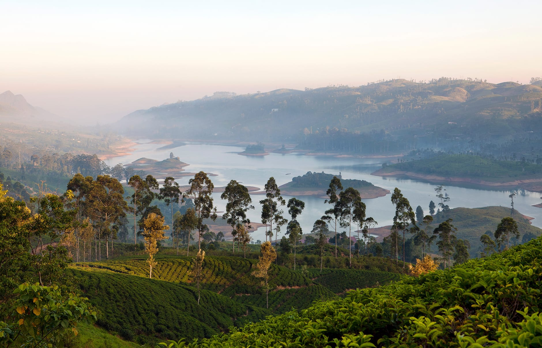 Castlereagh Lake. Ceylon Tea Trails, Sri Lanka. Hotel Review by TravelPlusStyle. Photo © Resplendent Ceylon