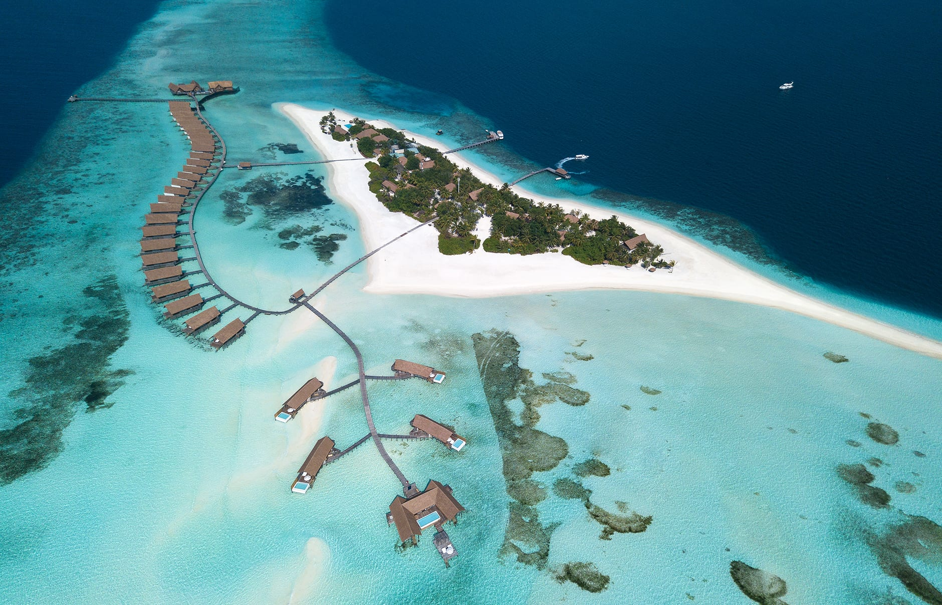 COMO Cocoa Island - Maldives. Hotel Review by TravelPlusStyle. Photo © COMO Hotels and Resorts