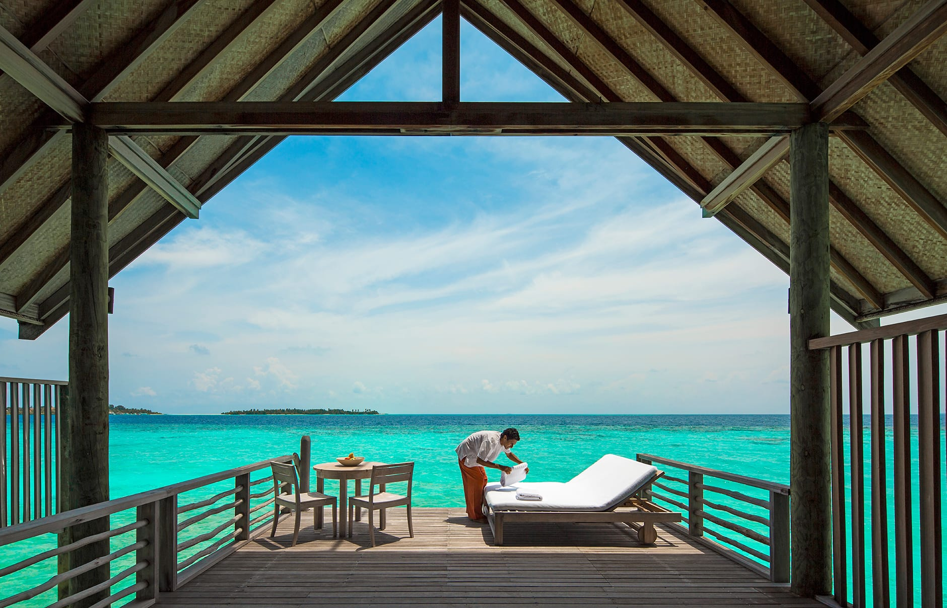 Loft Villa. Cocoa Island - Maldives. © COMO Hotels and Resorts