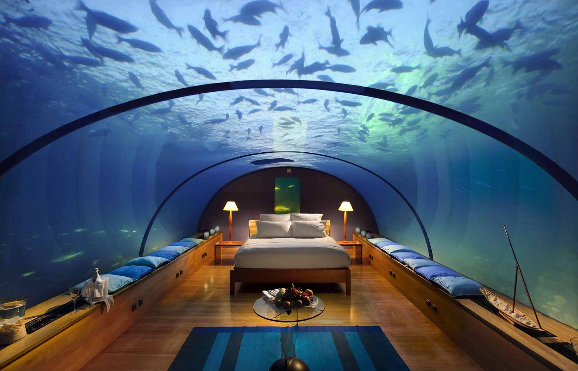 Conrad Maldives Rangali Island, Maldives. Luxury Hotel Review by TravelPlusStyle. Photo © Hilton