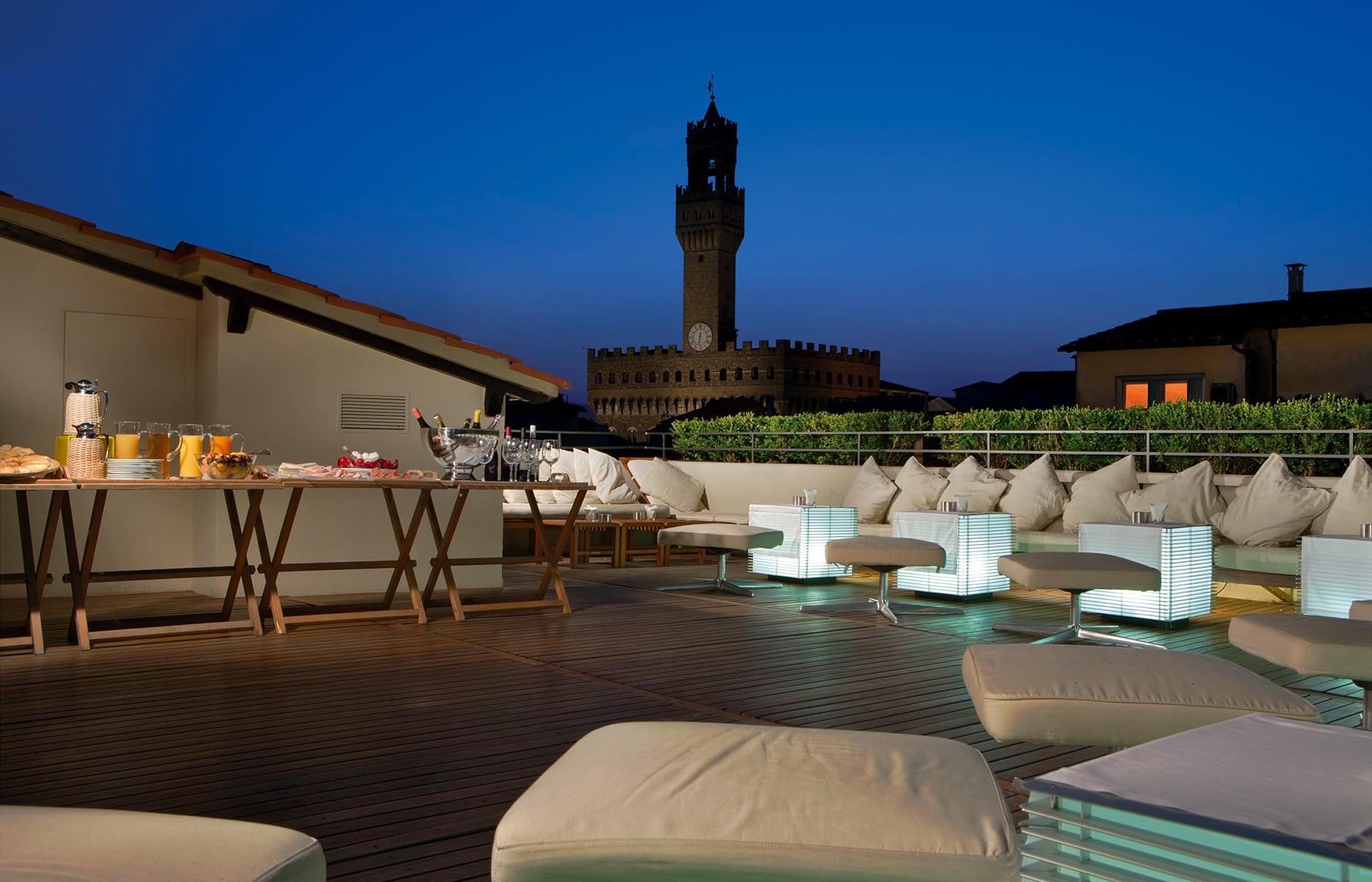 Continentale, Florence, Italy. Hotel Review by TravelPlusStyle. Photo © Lungarno Collection