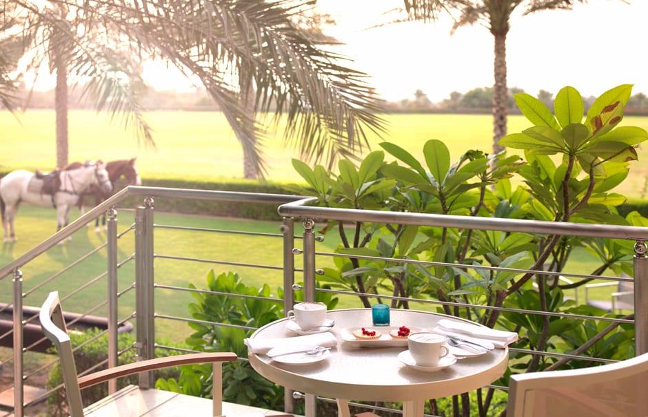 Polo Suite Terrace. Desert Palm, Dubai. © Per AQUUM