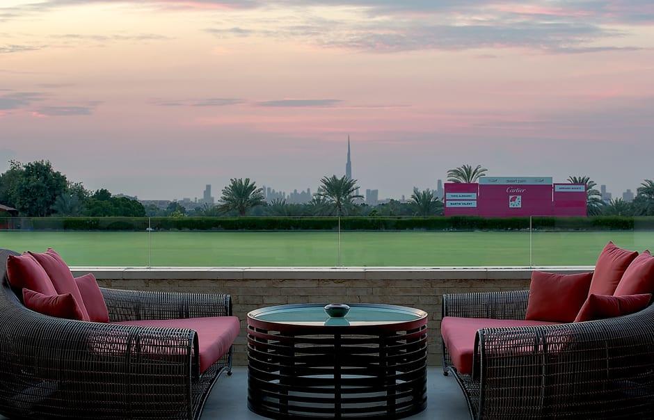 Red Portico. Desert Palm, Dubai. © Per AQUUM