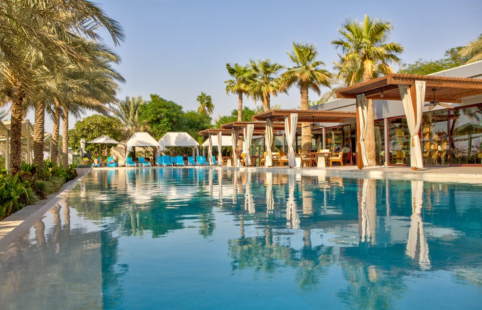 Desert palm dubai luxury hotels travelplusstyle for Top resorts in dubai