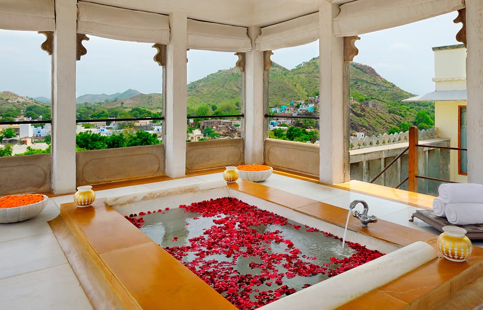 RAAS Devigarh, Udaipur, India. Hotel Review by TravelPlusStyle. Photo © RAAS Hotels