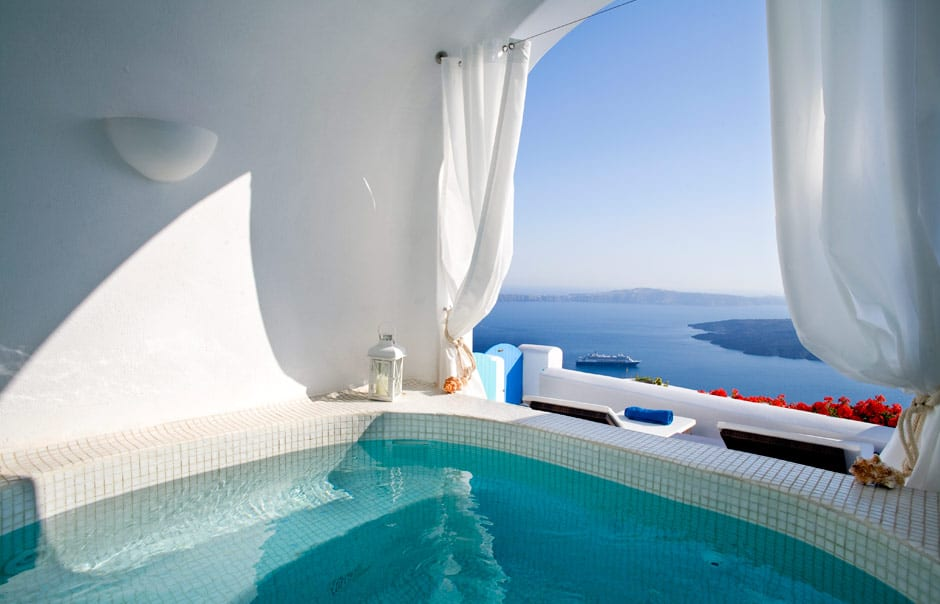 Santorini Luxury Hotels Honeymoon
