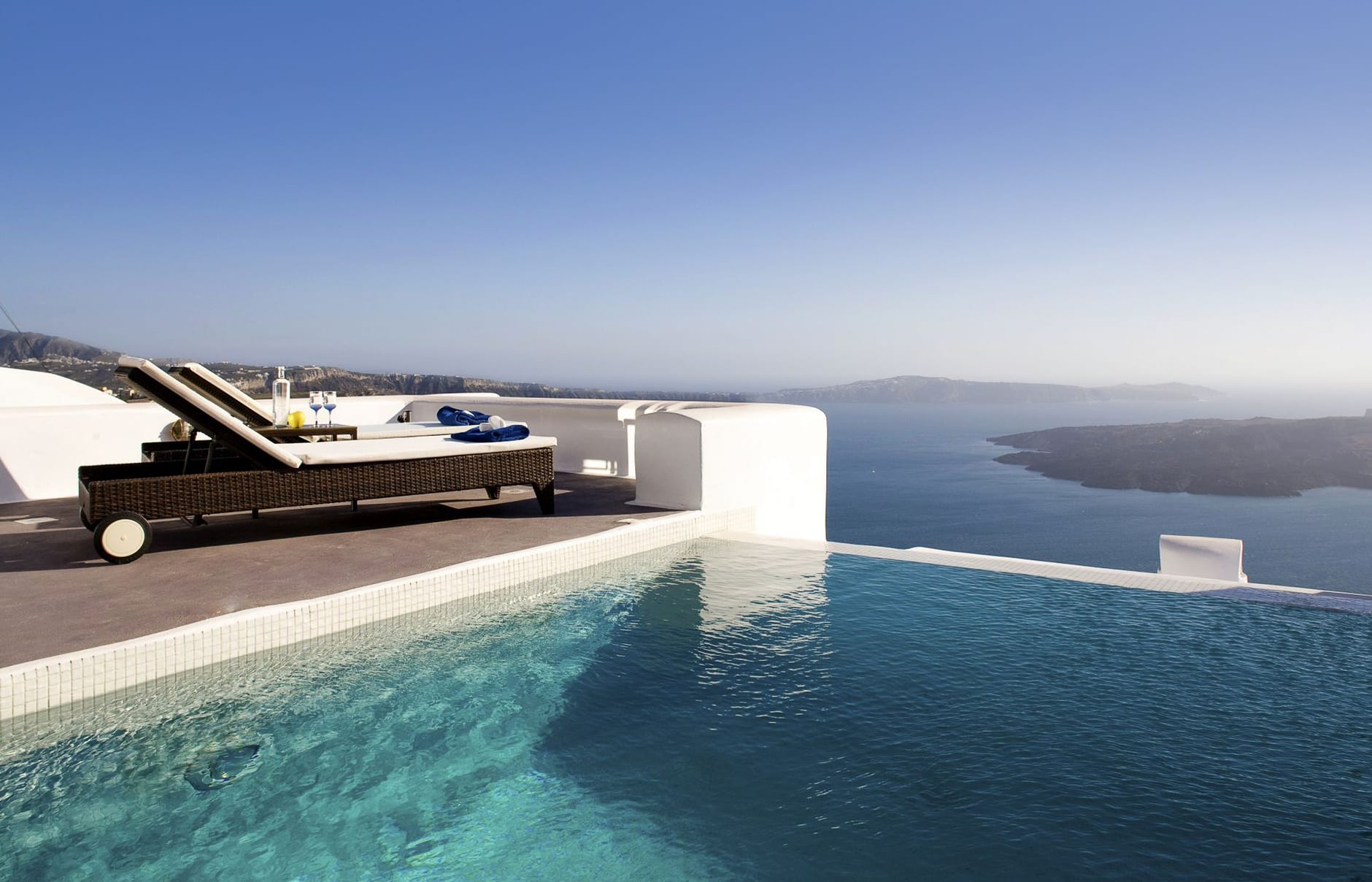 Dreams Luxury Suites, Santorini. Hotel Review by TravelPlusStyle. Photo © Dreams Luxury Suites