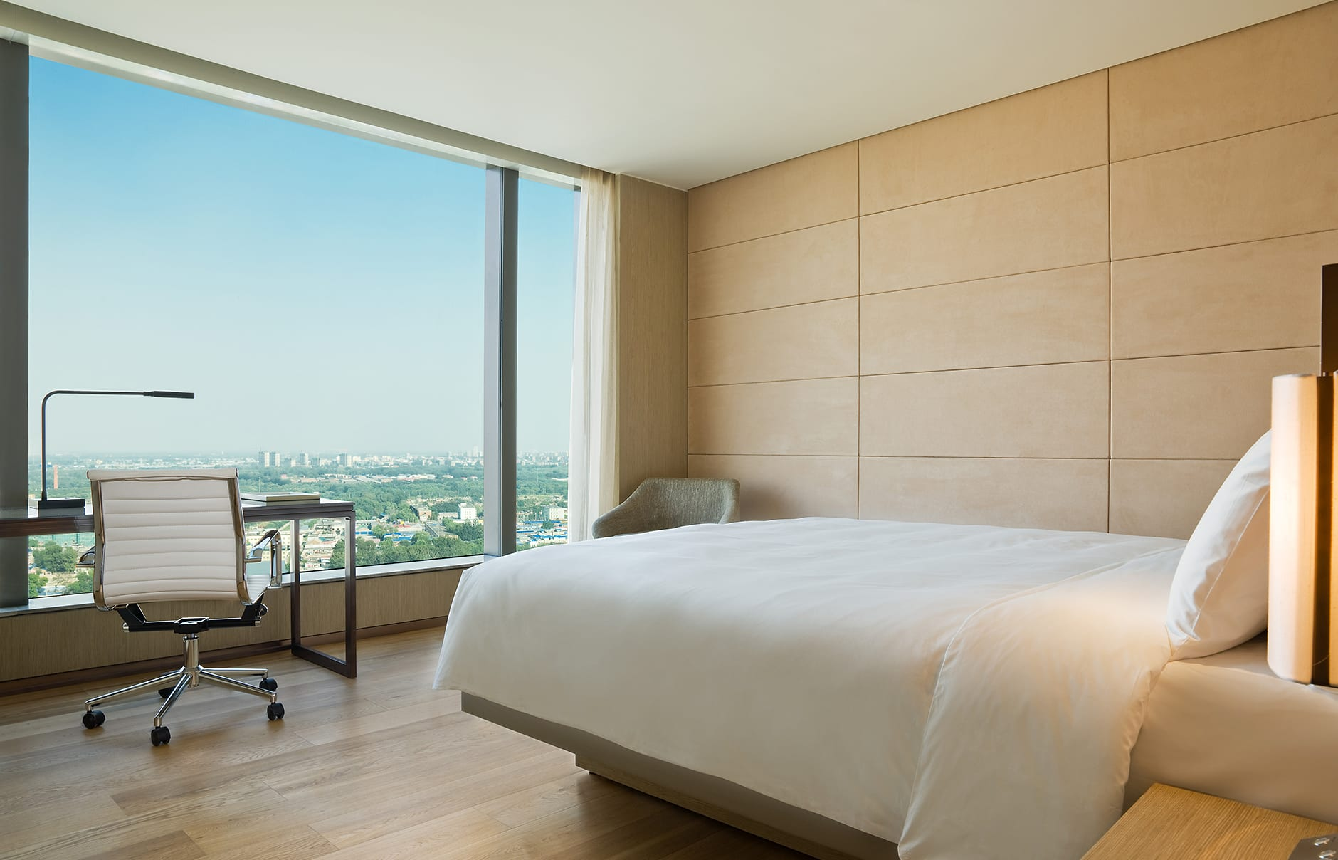 Park View Room. EAST Beijing, China. Hotel Review by TravelPlusStyle. Photo © Swire Hotels