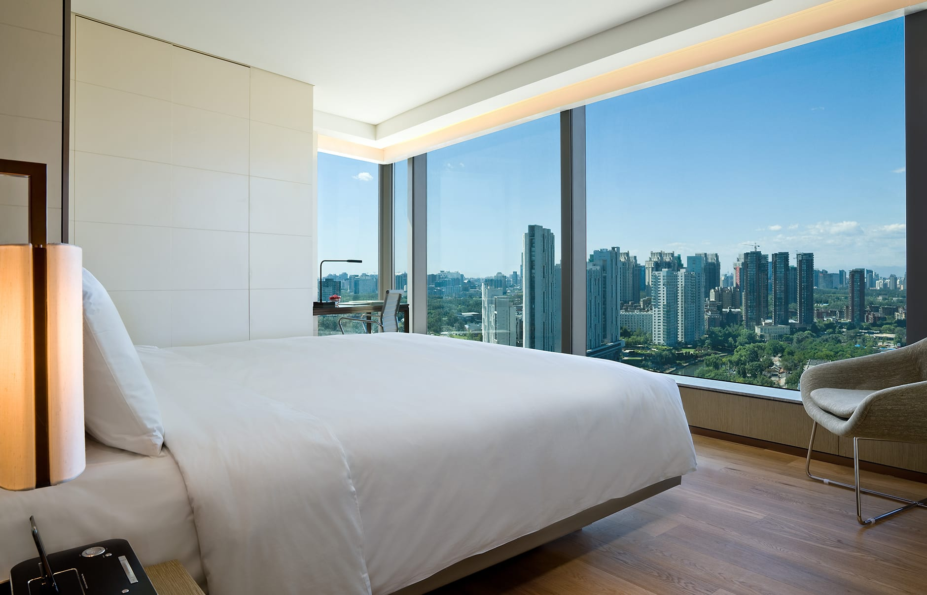 Upstairs suite. EAST Beijing, China. © Swire Hotels