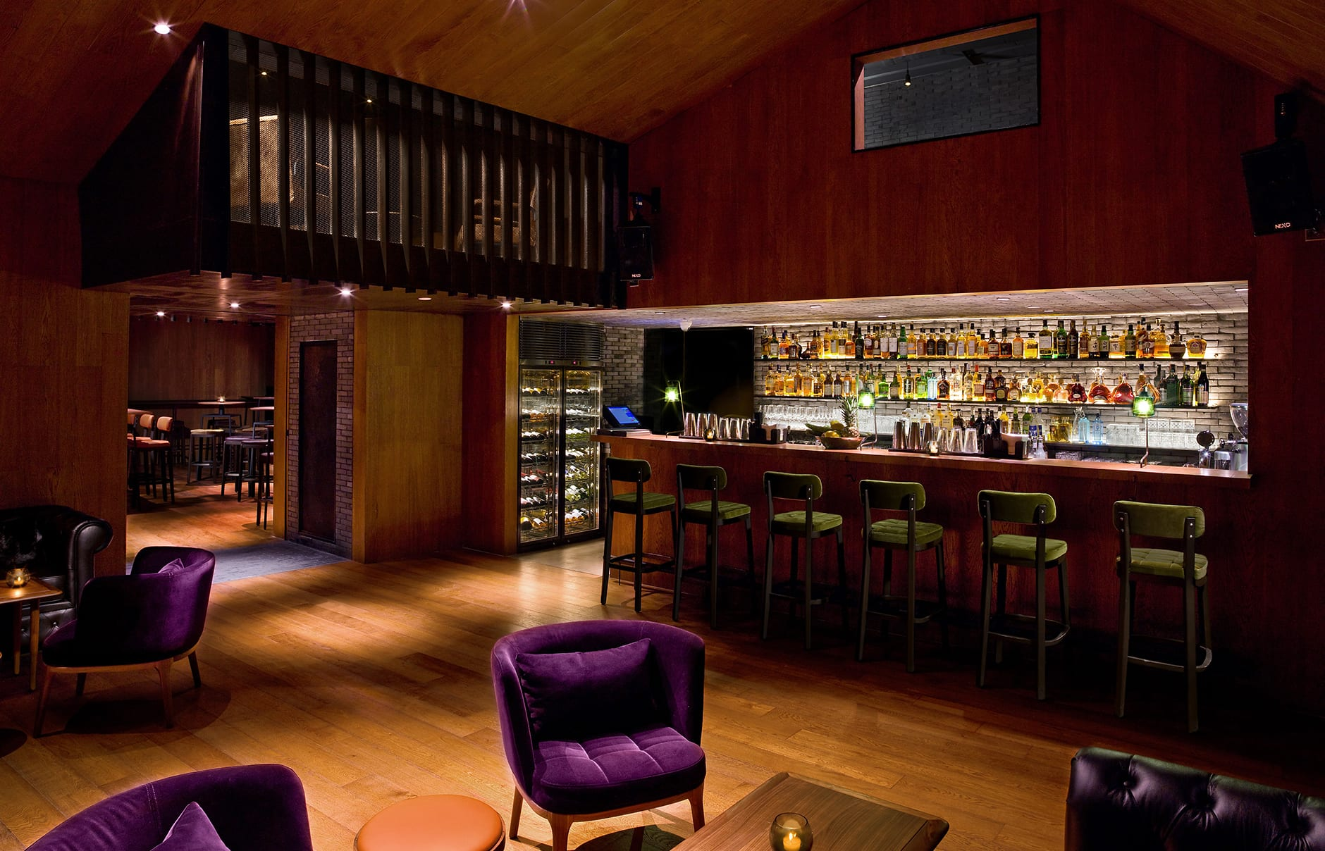 Xian bar. EAST Beijing, China. © Swire Hotels
