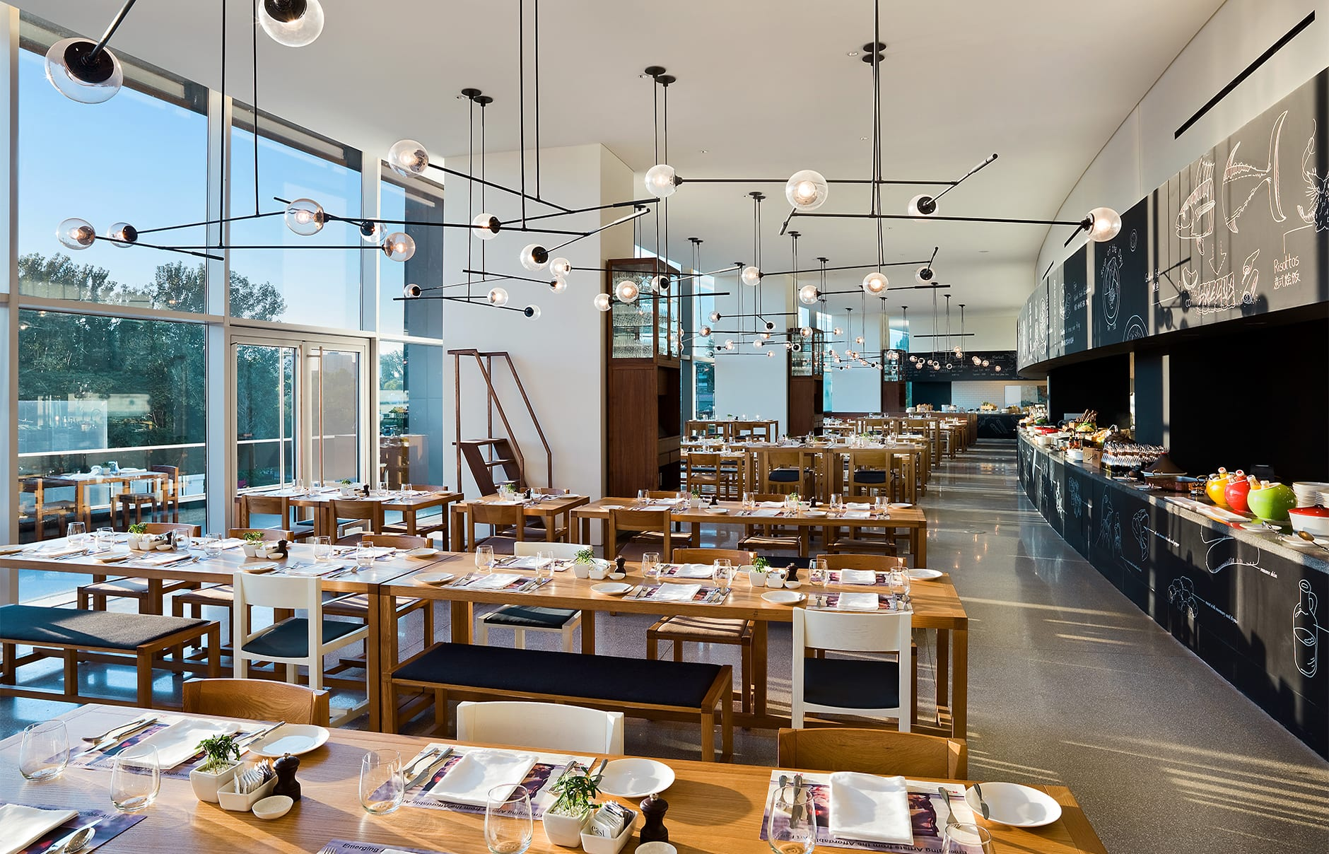 Feast cafe. EAST Beijing, China. © Swire Hotels
