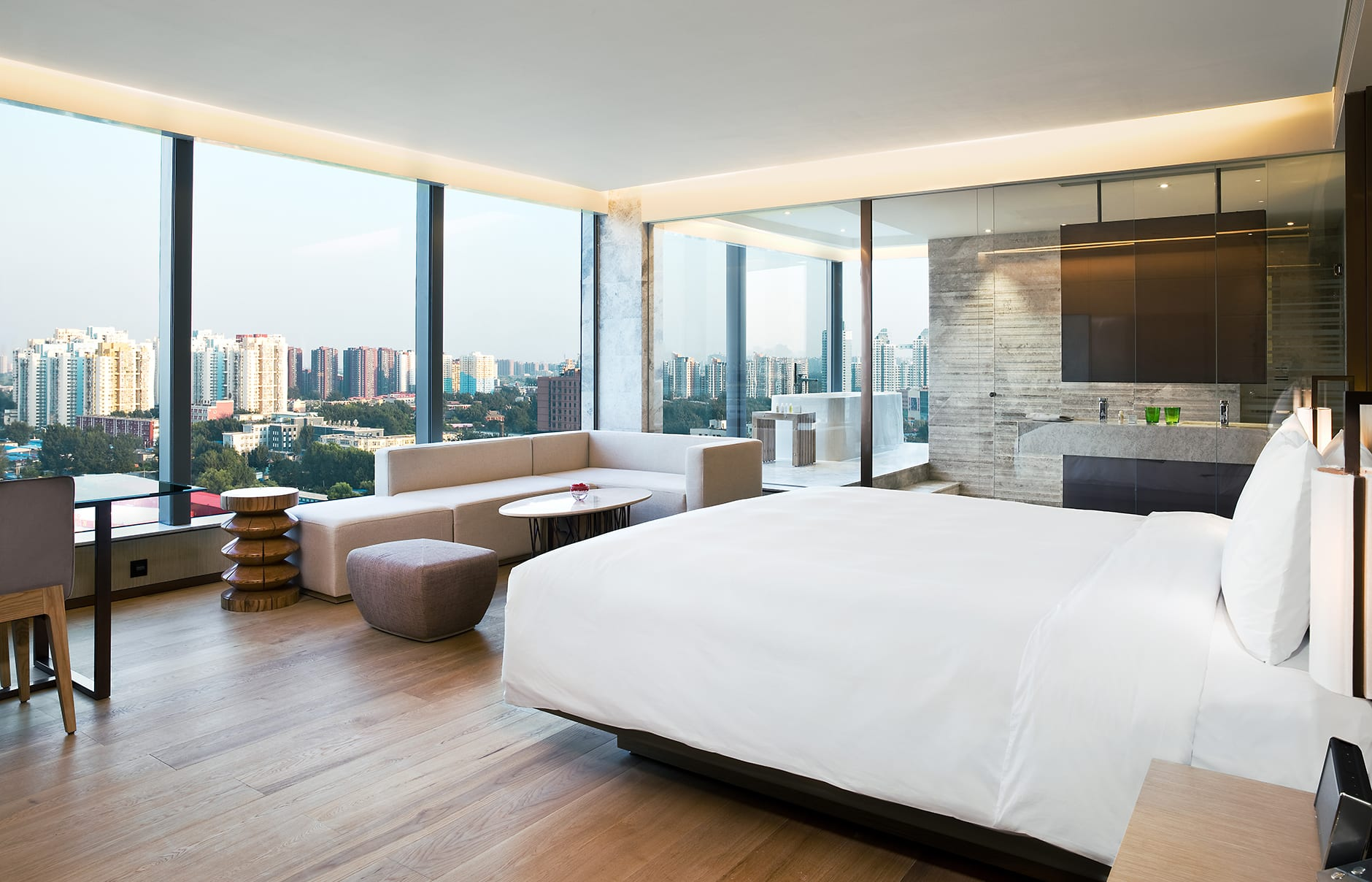 Park Studio suite. EAST Beijing, China. © Swire Hotels