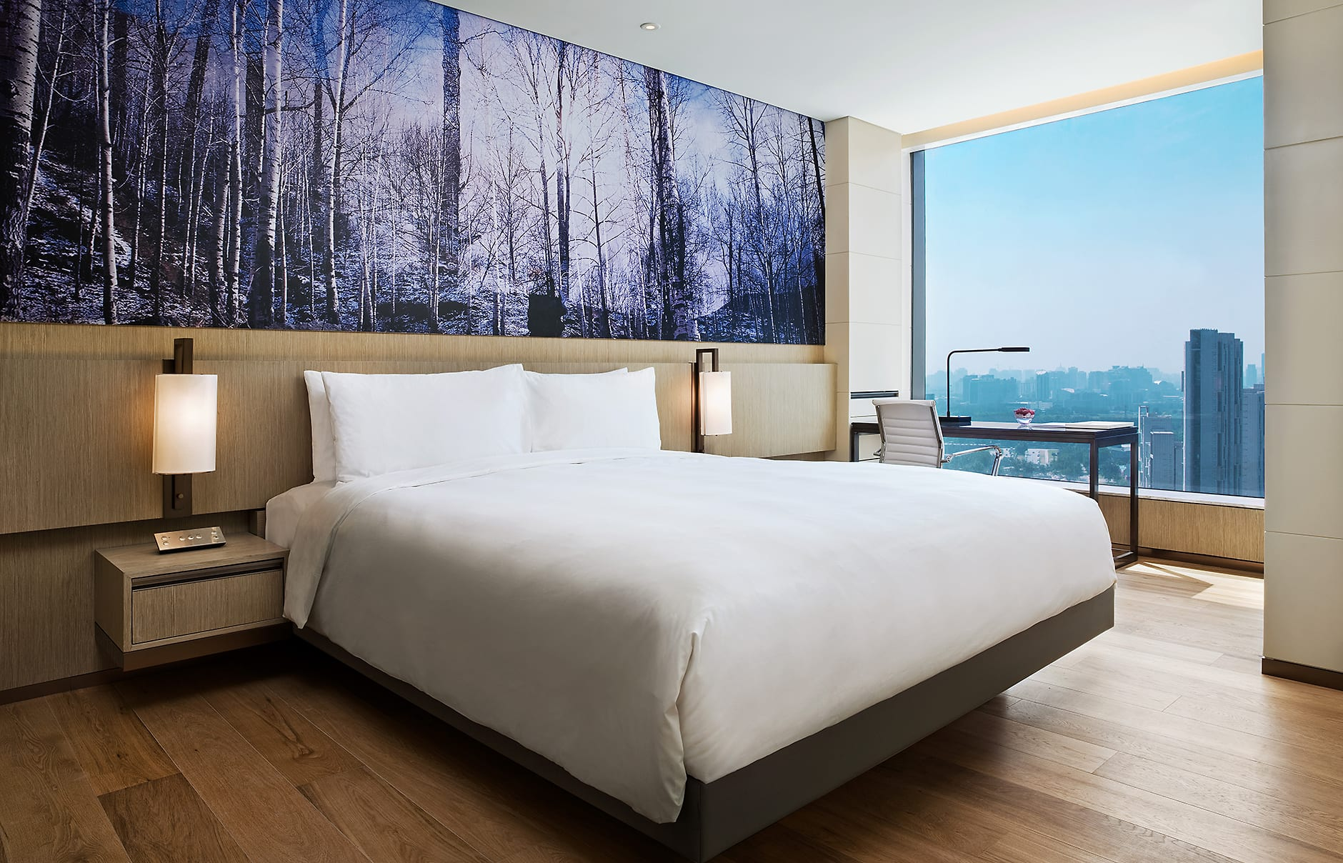 Urban View room. EAST Beijing, China. © Swire Hotels