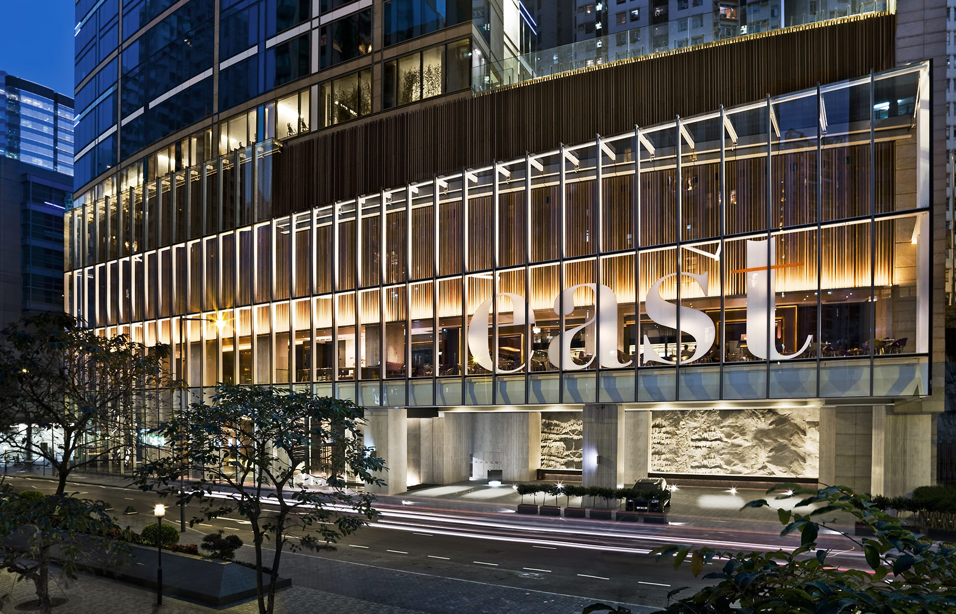 Exterior. EAST Hong Kong, Hong Kong. Hotel Review by TravelPlusStyle. Photo © Swire Hotels