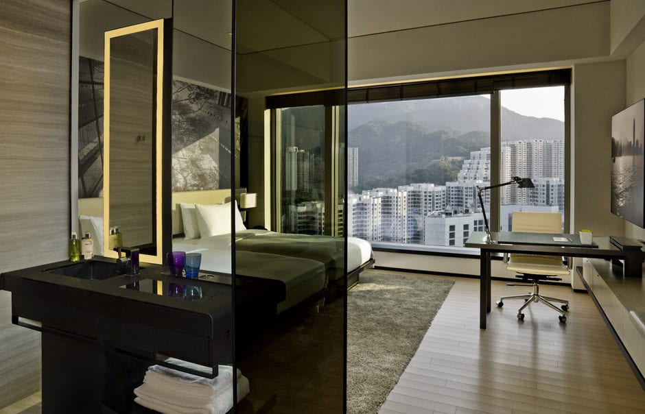 Urban view twin. EAST Hong Kong, Hong Kong. Hotel Review by TravelPlusStyle. Photo © Swire Hotels
