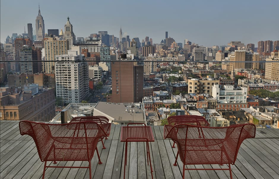 Penthouse, The Standard, East Village, New York. © Standard International Management, LLC