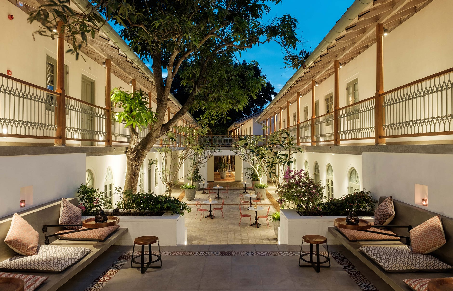 Fort Bazaar Galle, Sri Lanka. Hotel Review by TravelPlusStyle. Photo © Teardrop Hotels