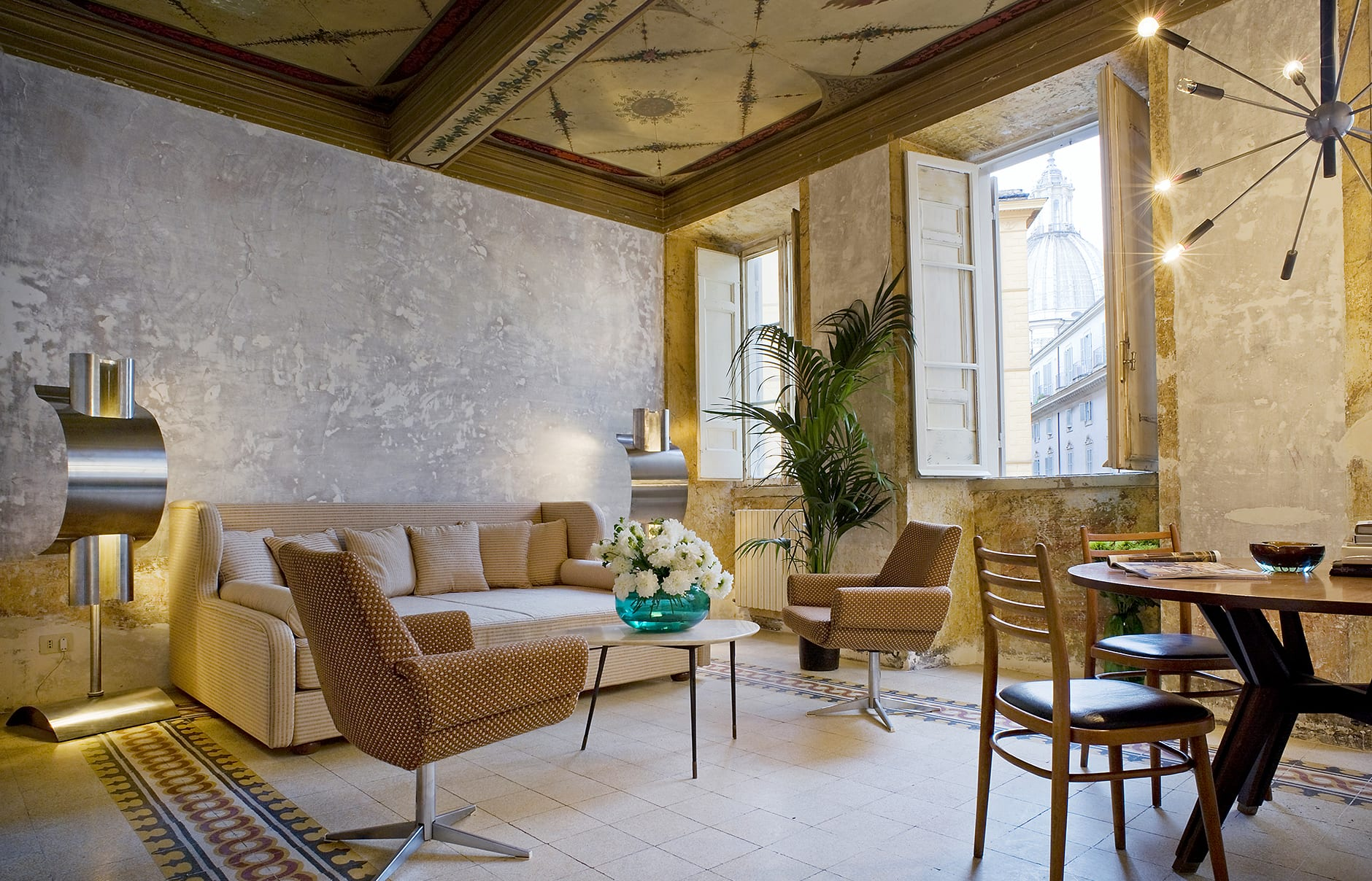 G rough rome luxury hotels travelplusstyle for Hotel design italia