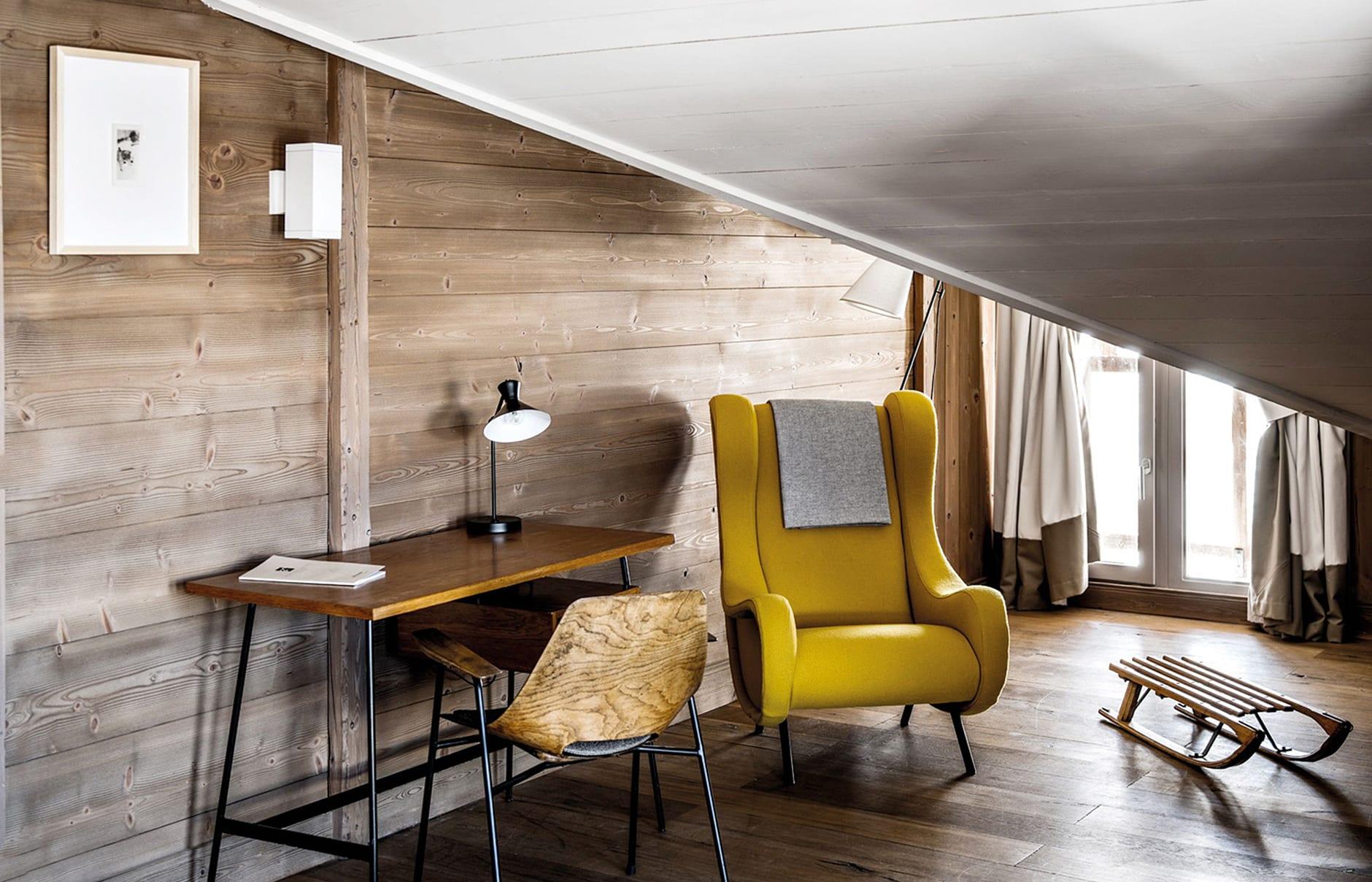 Hôtel des Trois Vallées, Courchevel, France. Hotel Review. Photo © The Hotels d'en Haut Group