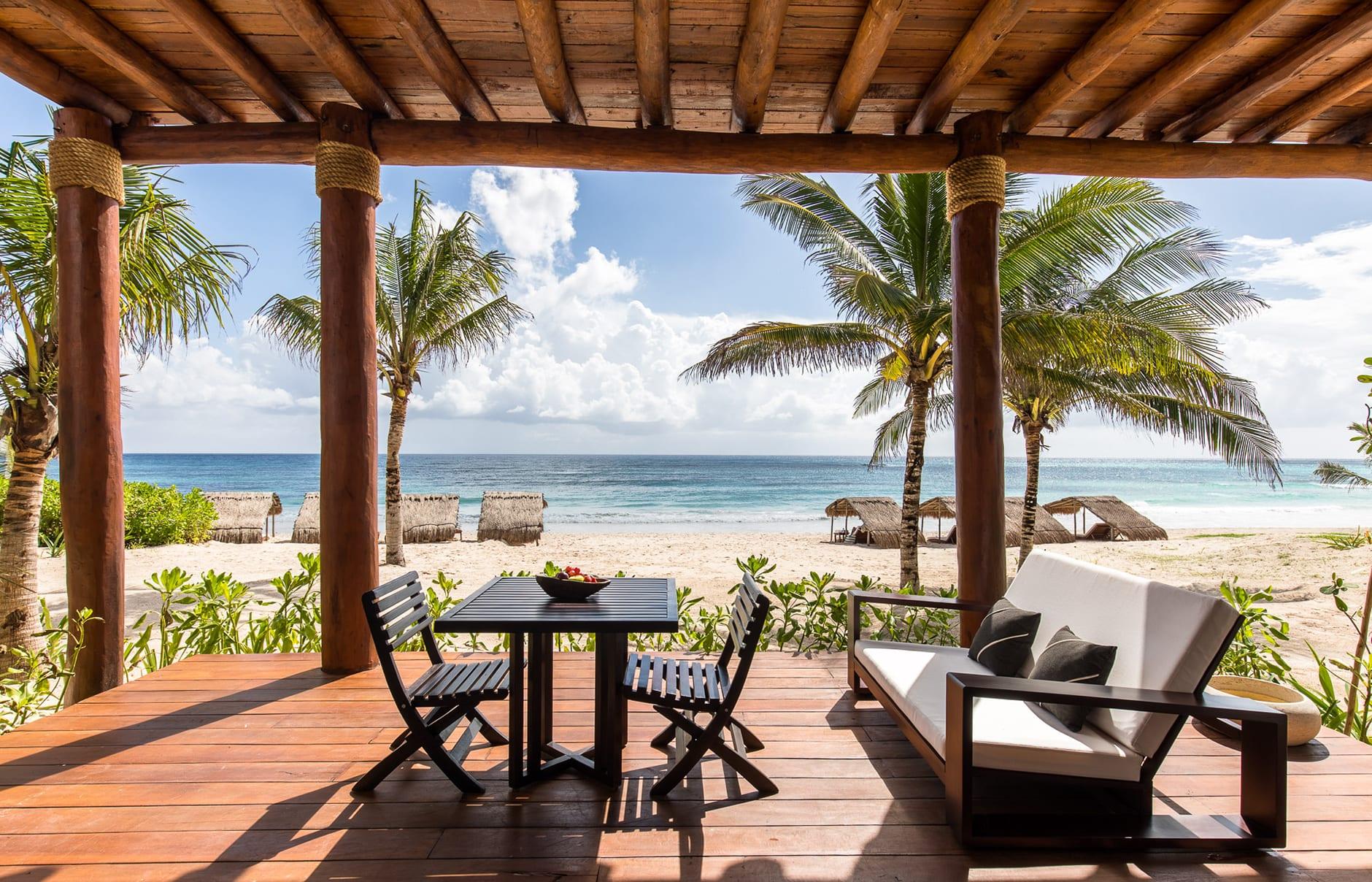 Hotel Esencia, Xpu Ha, Mexico. Luxury Hotel Review by TravelPlusStyle. Photo © Hotel Esencia