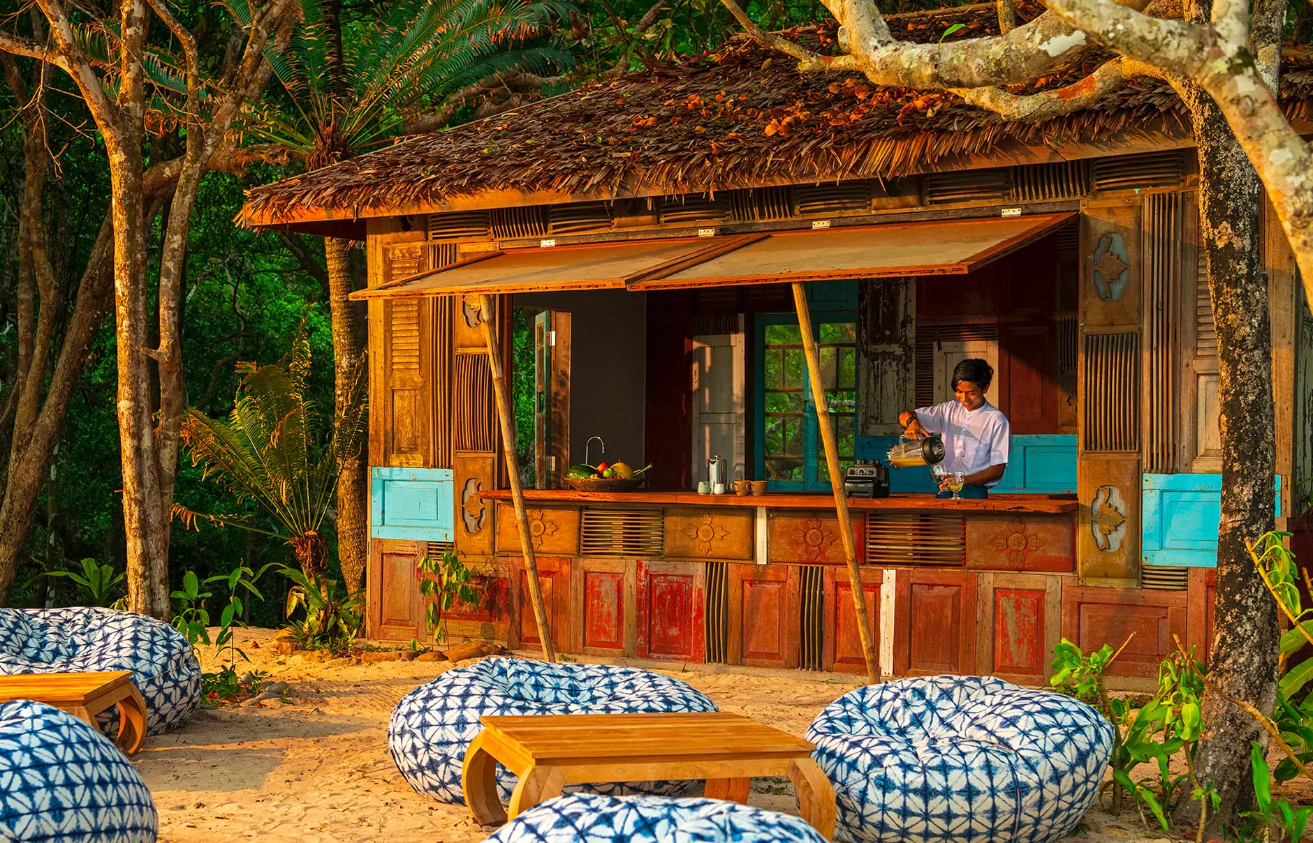 Wa Ale Island Resort, Myeik Archipelago, Myanmar. Hotel Review by TravelPlusStyle. Photo © Wa Ale Island Resort