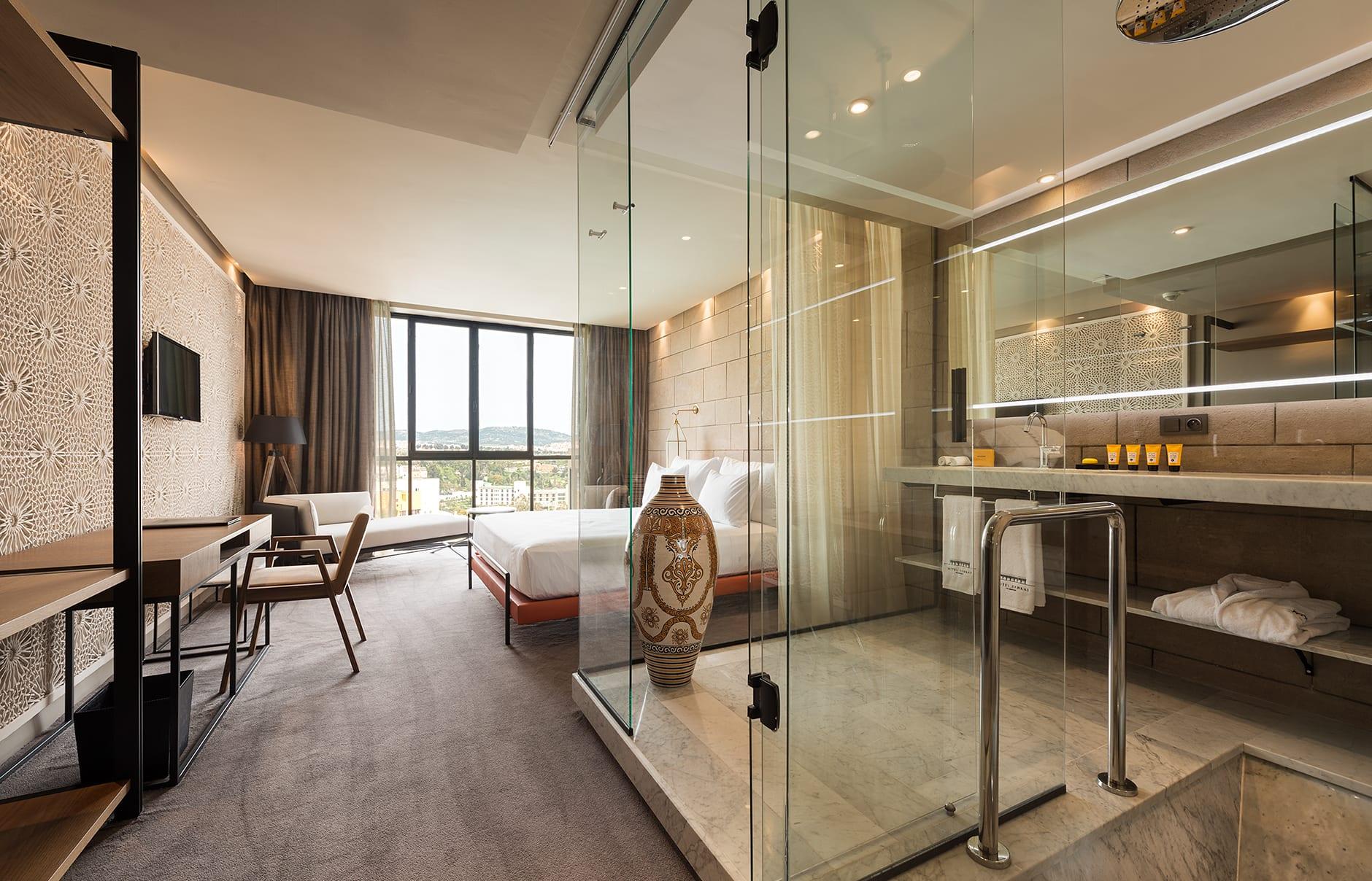 Hotel sahrai fez luxury hotels travelplusstyle for Hotel b design