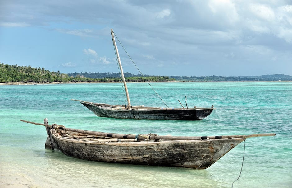 On the beach, Kilindi Zanzibar. © elewana collection