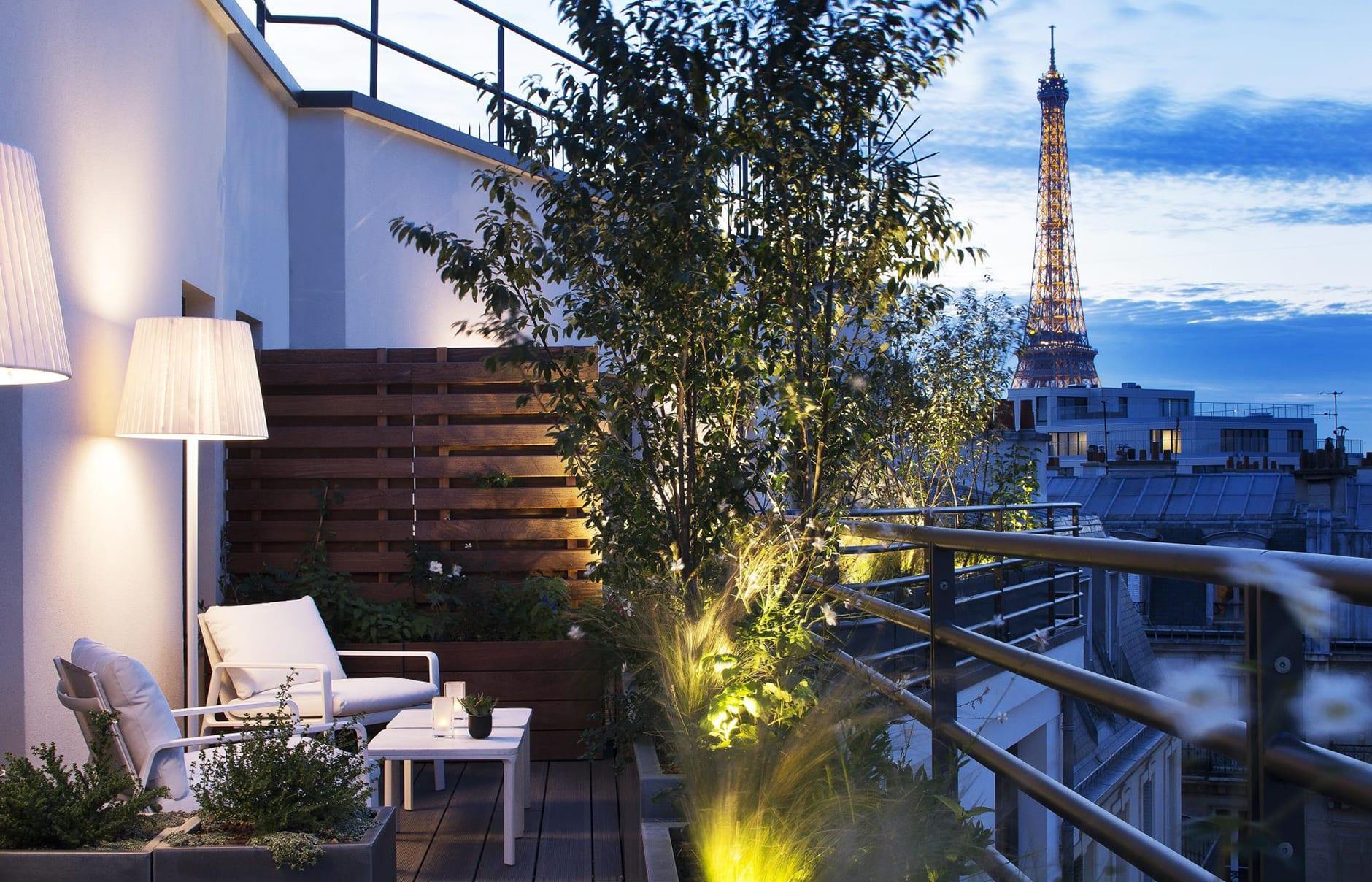Le cinq codet paris luxury hotels travelplusstyle for Boutique hotel 9th arrondissement