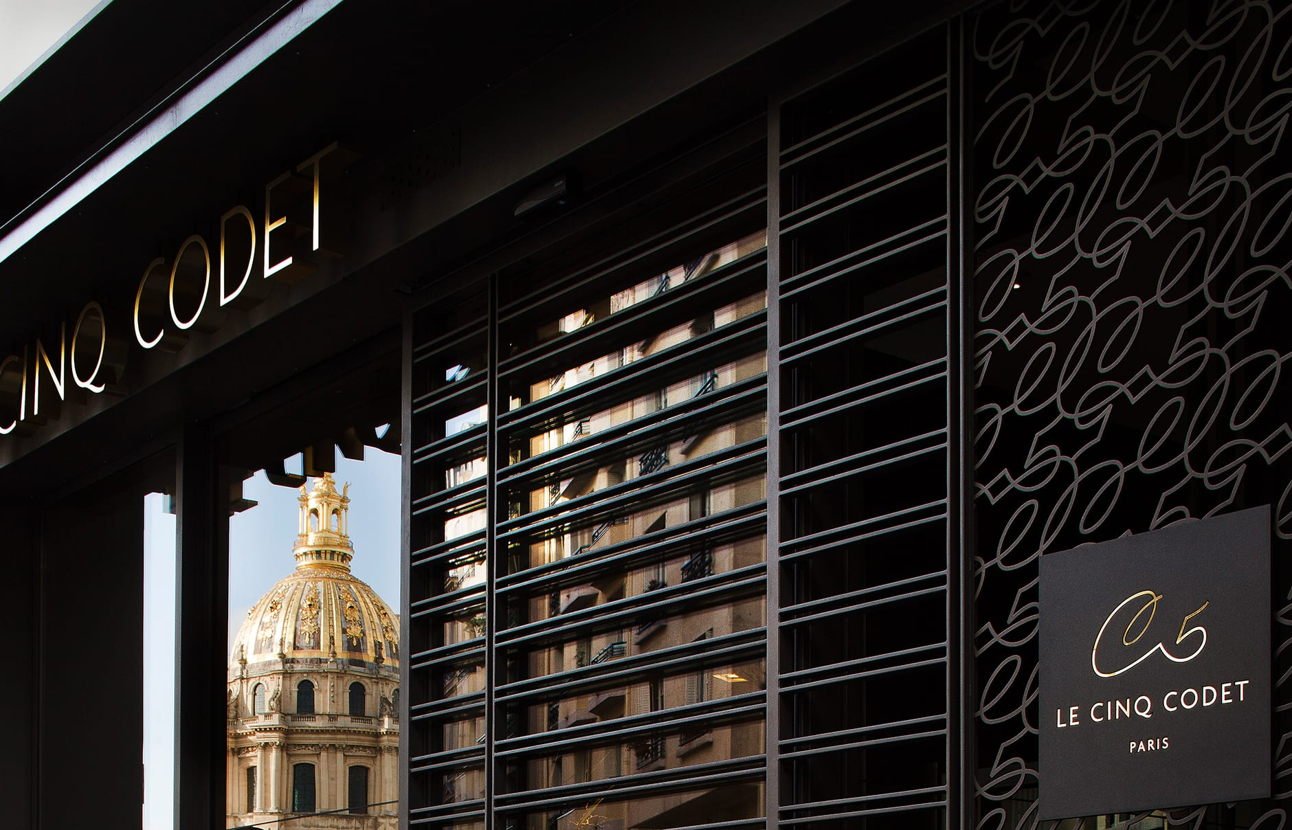 Le Cinq Codet, Paris, France. © Le Cinq Codet