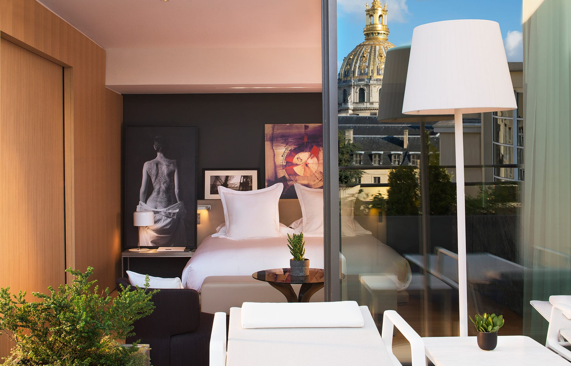 Le Cinq Codet, Paris, France. Hotel Review by TravelPlusStyle. Photo © Le Cinq Codet
