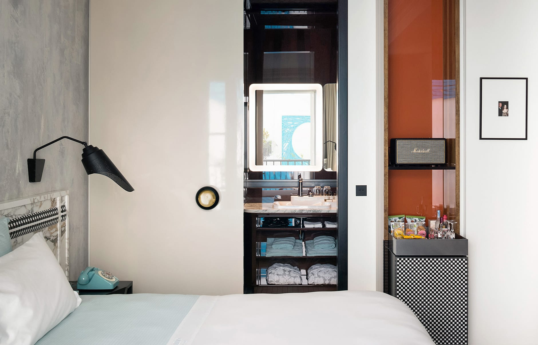 Les Bains Paris, France. Hotel Review by TravelPlusStyle. Photo © Société des Bains.