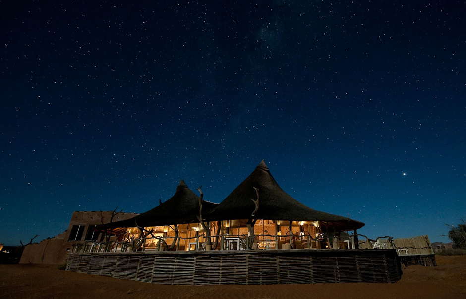 Main Area, Little Kulala, Sossusvlei, Namibia. © Wilderness Safaris