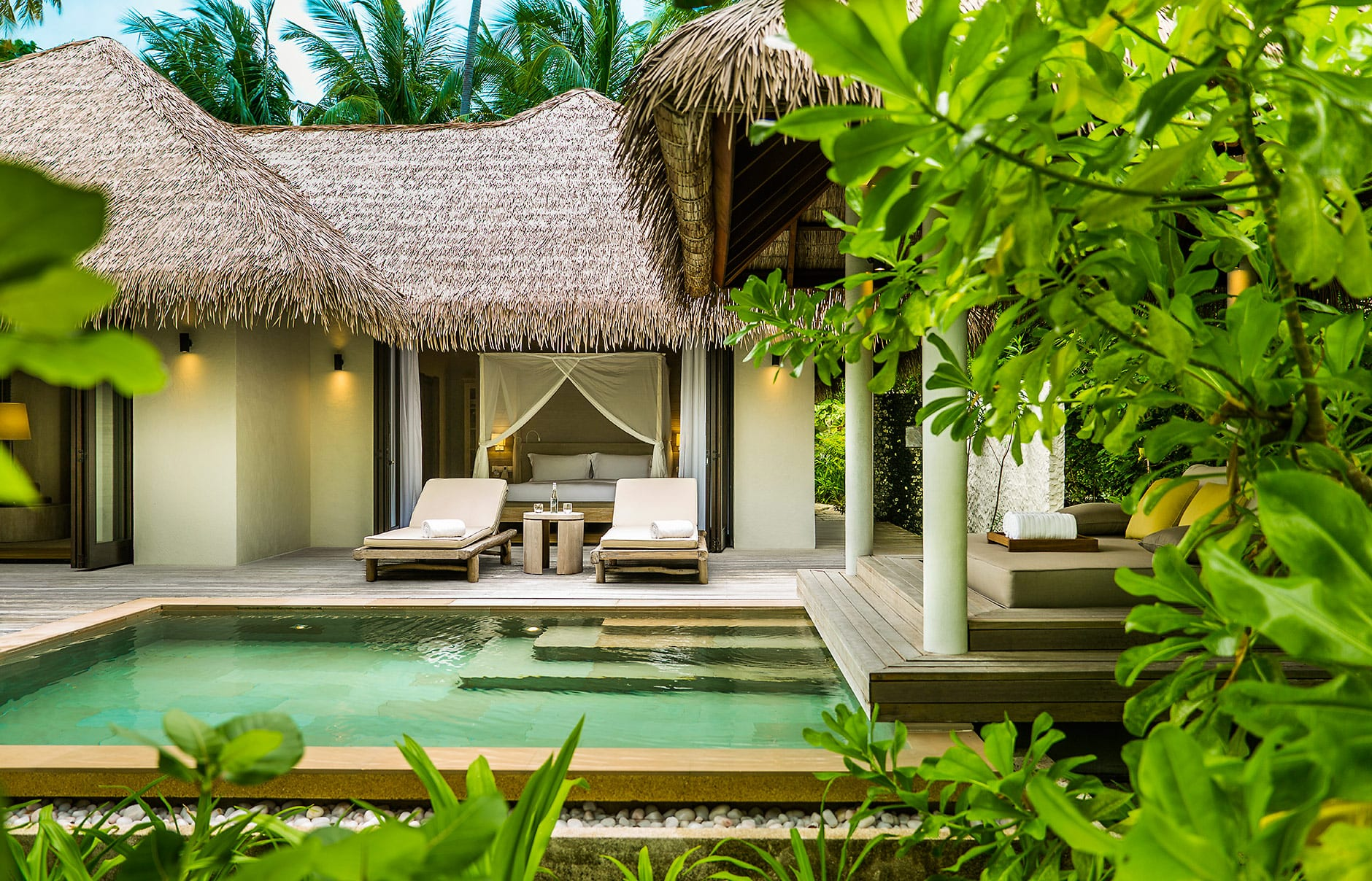 Beach Villa. Maalifushi by COMO, Maldives. © COMO Hotels & Resorts