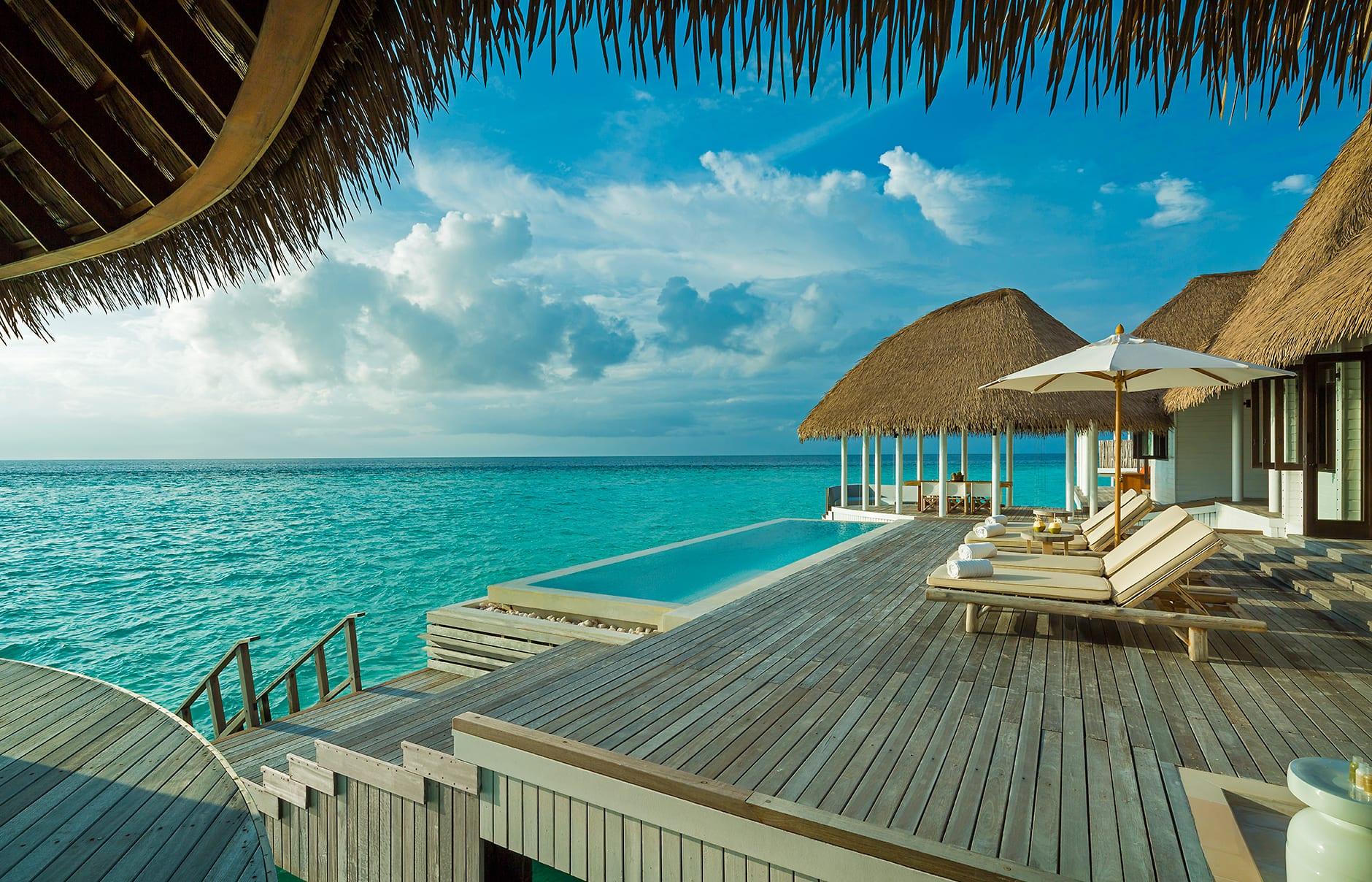 Como Villa deck. Maalifushi by COMO, Maldives. © COMO Hotels & Resorts