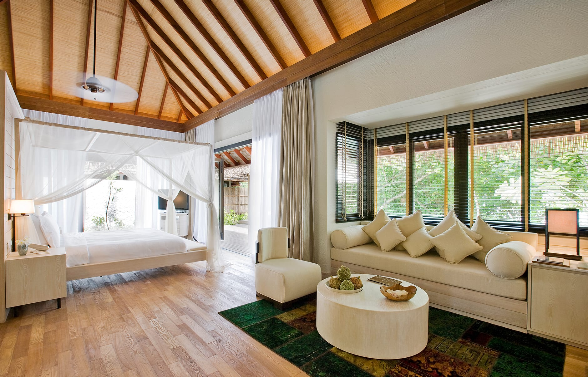 Garden Suite. COMO Maalifushi, Maldives. Hotel Review by TravelPlusStyle. Photo © COMO Hotels & Resorts