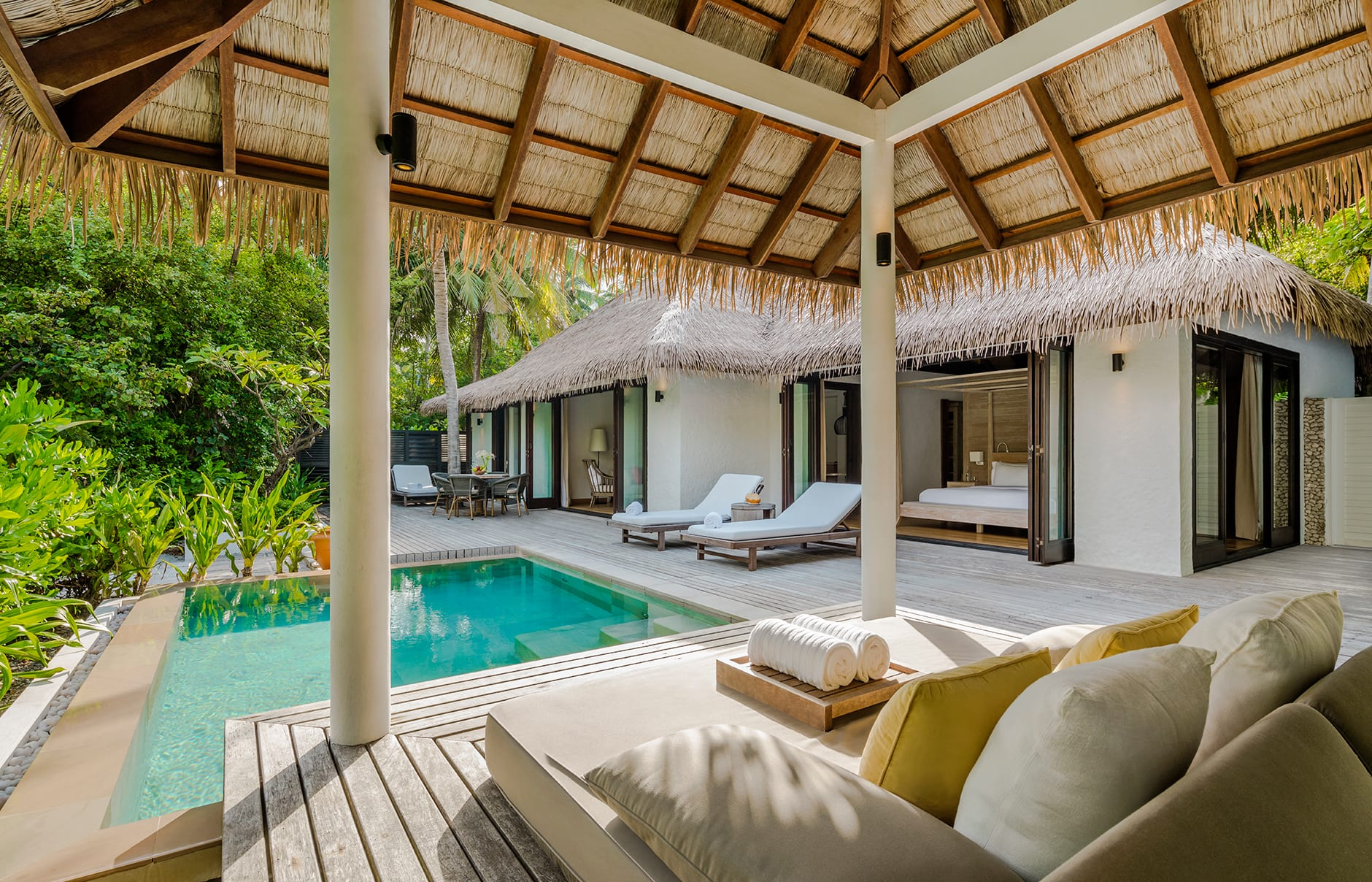 COMO Maalifushi, Maldives. Hotel Review by TravelPlusStyle. Photo © COMO Hotels & Resorts