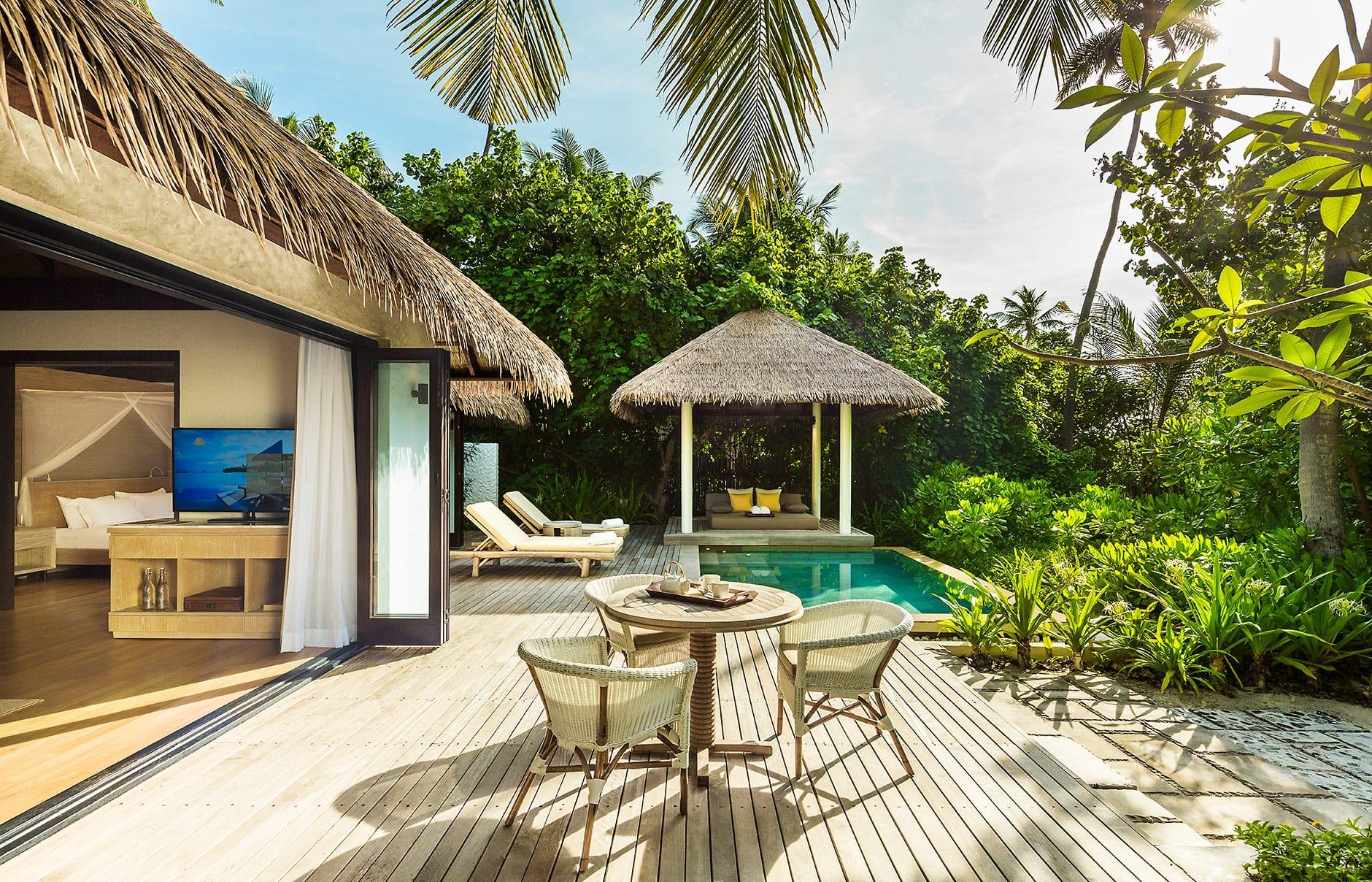 Garden Room. Maalifushi by COMO, Maldives. © COMO Hotels & Resorts