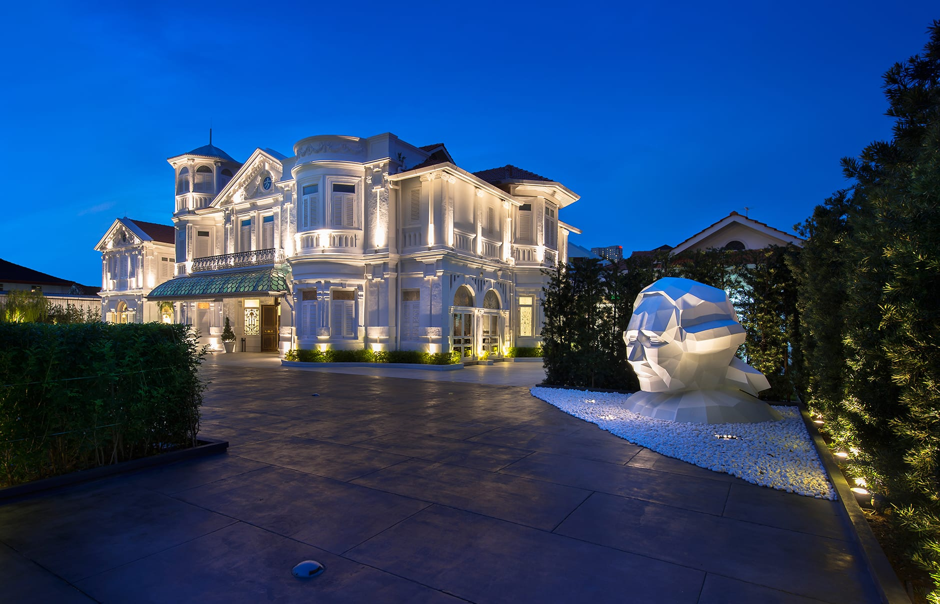 Macalister Mansion, Georgetown, Penang, Malaysia. © Macalister Mansion