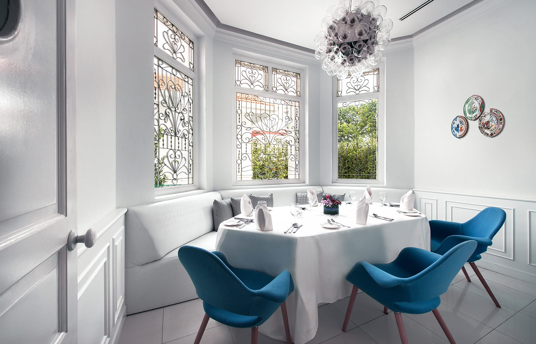 Dining Room. Macalister Mansion, Georgetown, Penang, Malaysia. © Macalister Mansion