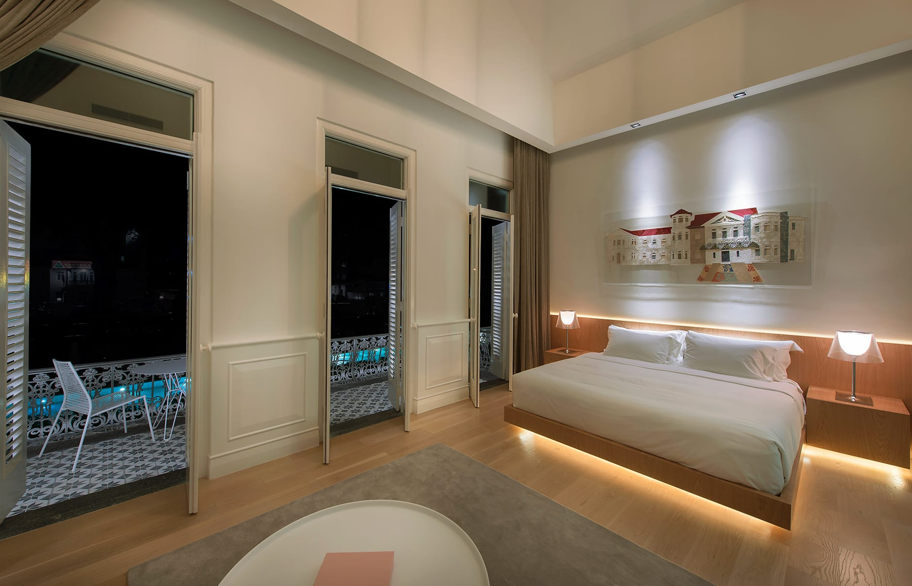 Room 3. Macalister Mansion, Georgetown, Penang, Malaysia. © Macalister Mansion