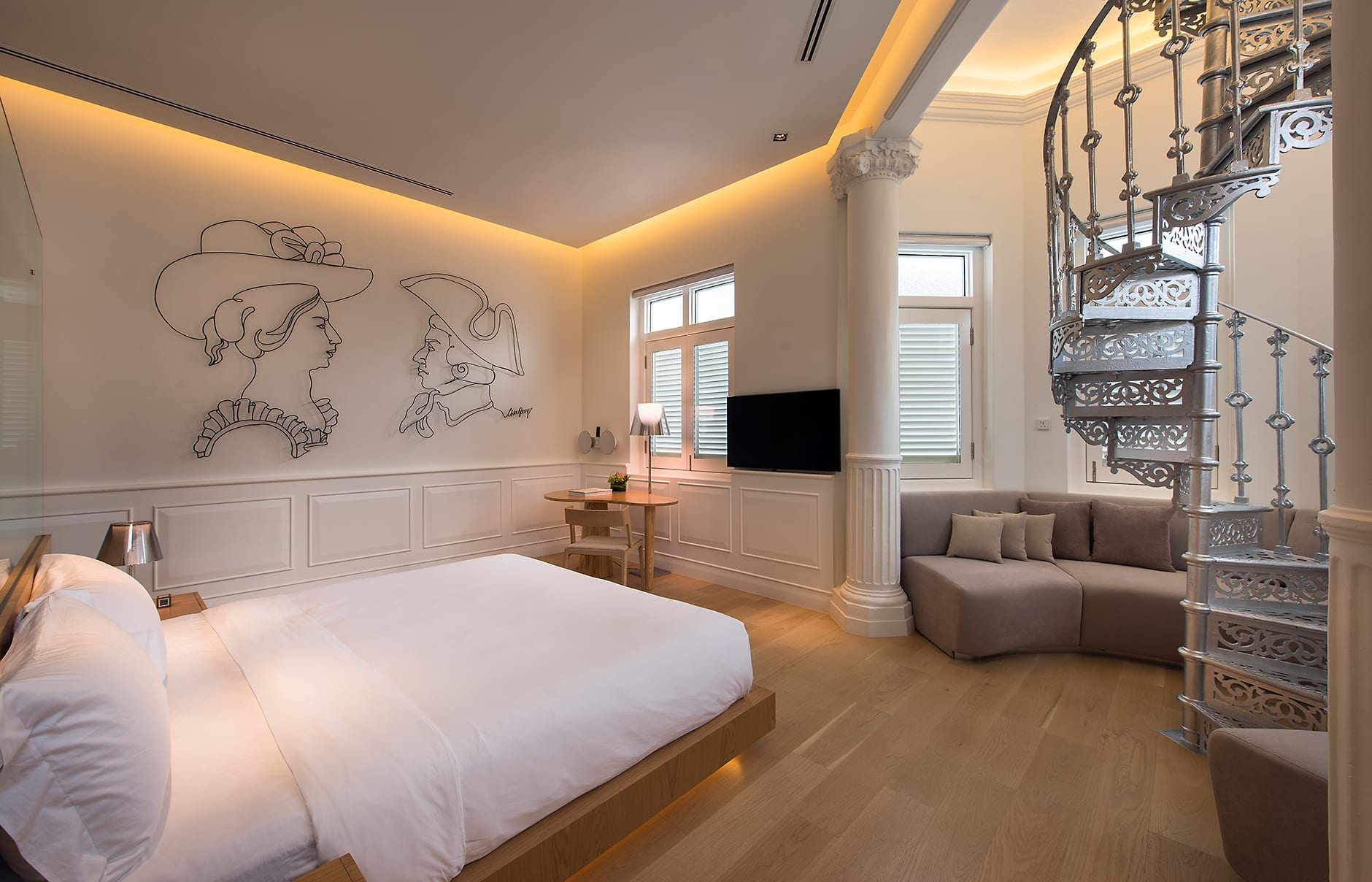 Room 4. Macalister Mansion, Georgetown, Penang, Malaysia. © Macalister Mansion