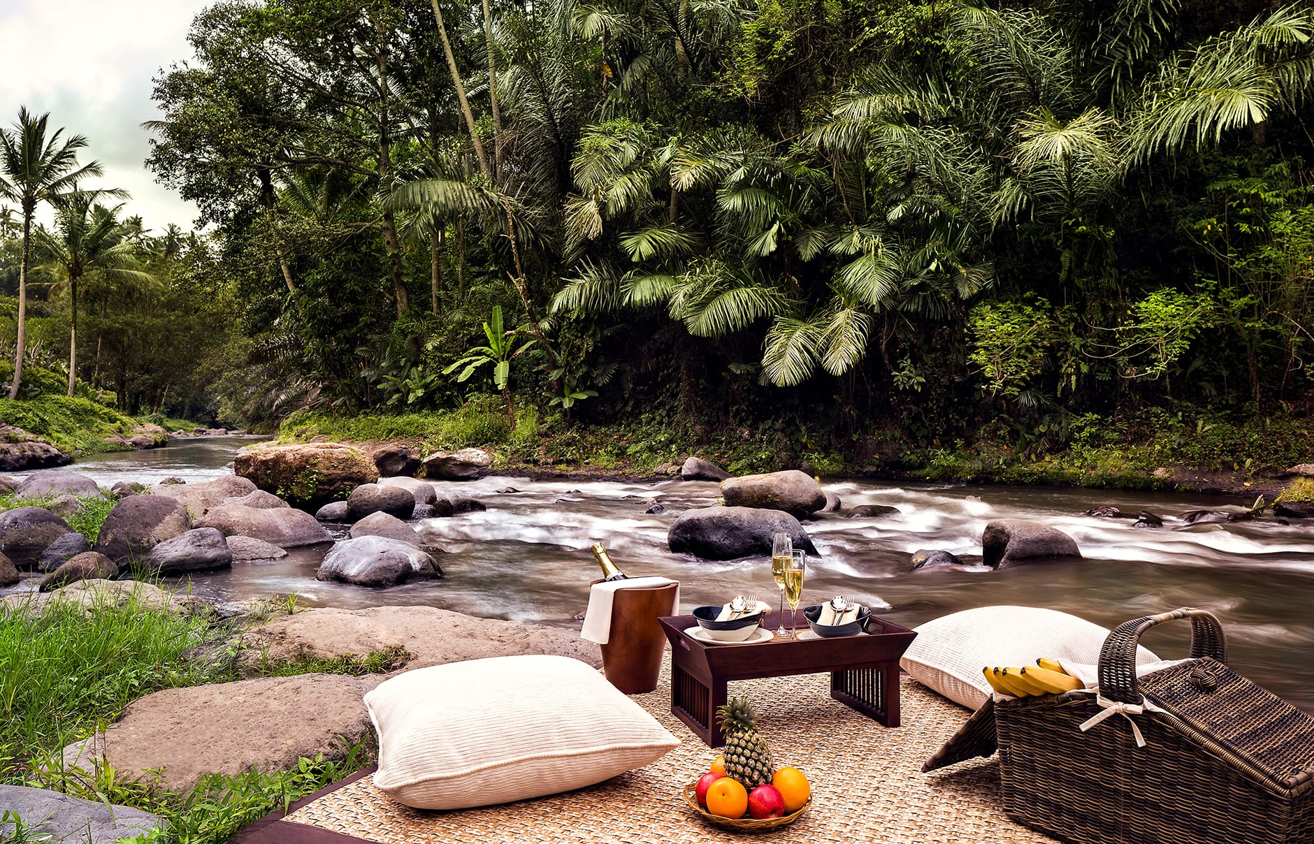 Dining Beyond. Mandapa, a Ritz-Carlton Reserve, Ubud, Indonesia. © The Ritz-Carlton Hotel Company