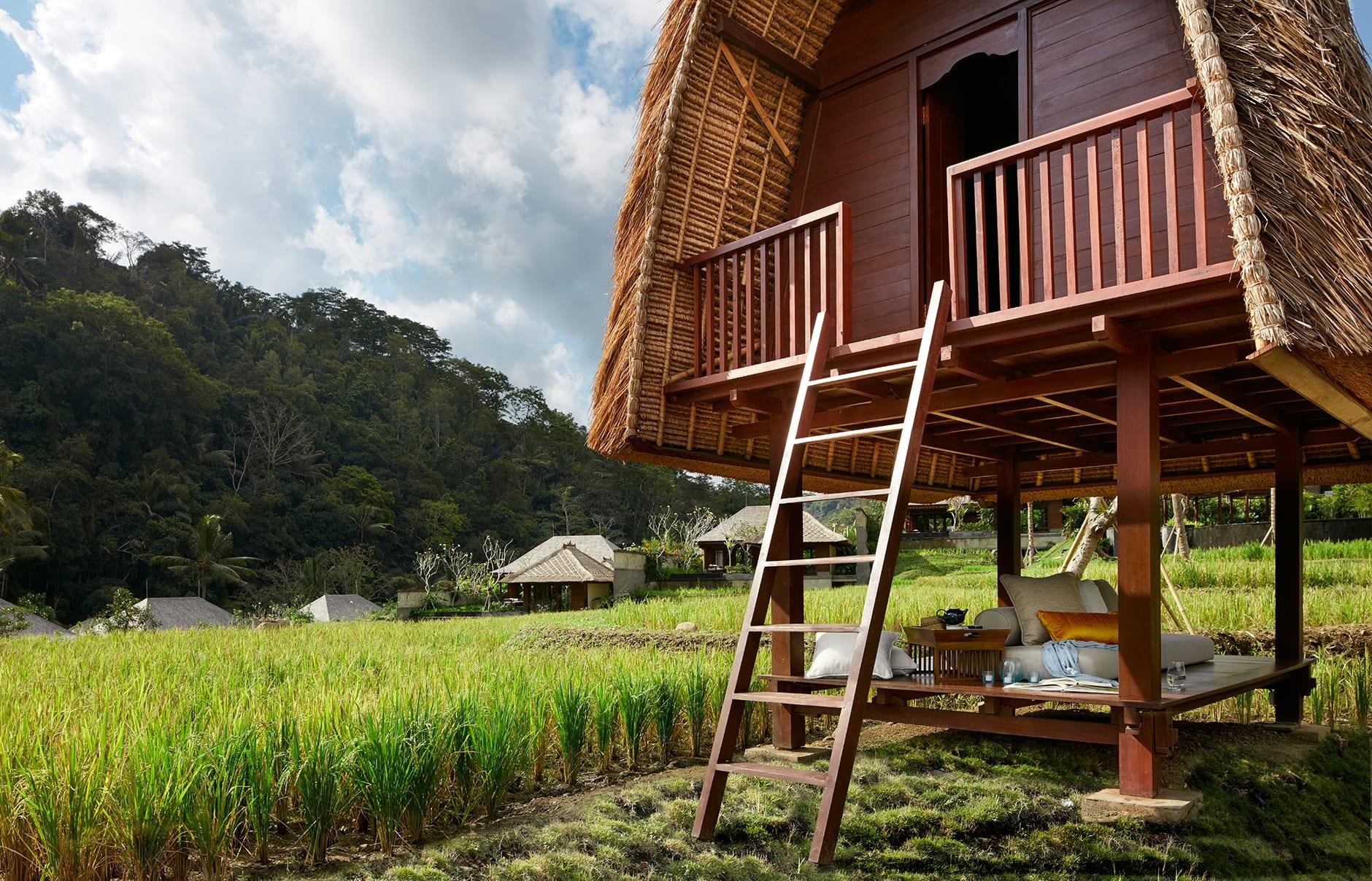 Lumbung. Mandapa, a Ritz-Carlton Reserve, Ubud, Indonesia. © The Ritz-Carlton Hotel Company
