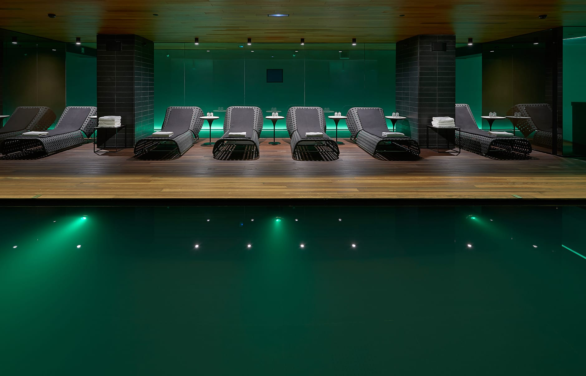 Spa pool. Mandarin Oriental Barcelona. © Mandarin Oriental Hotel Group